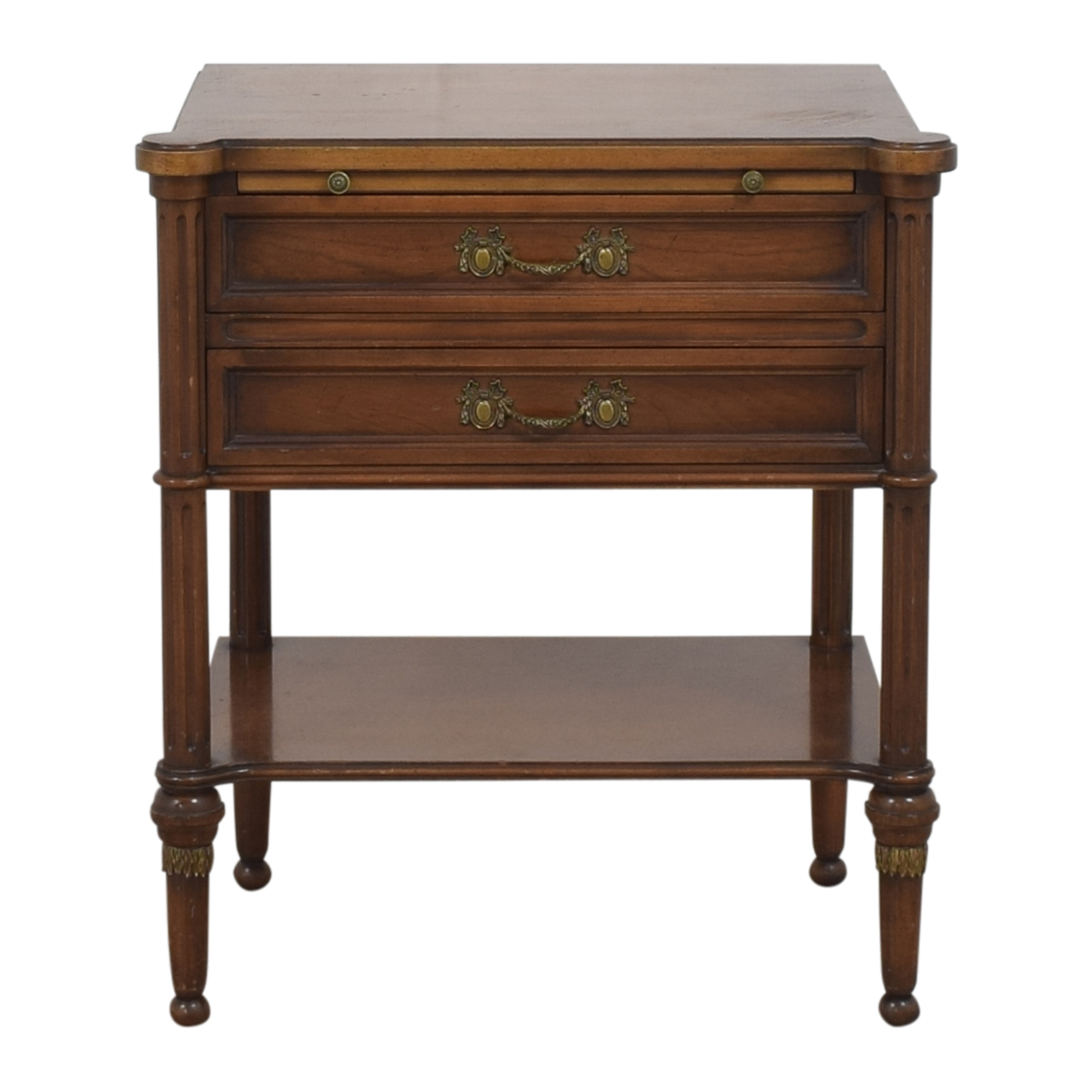 shop  Two Drawer End Table with Desk Extension online