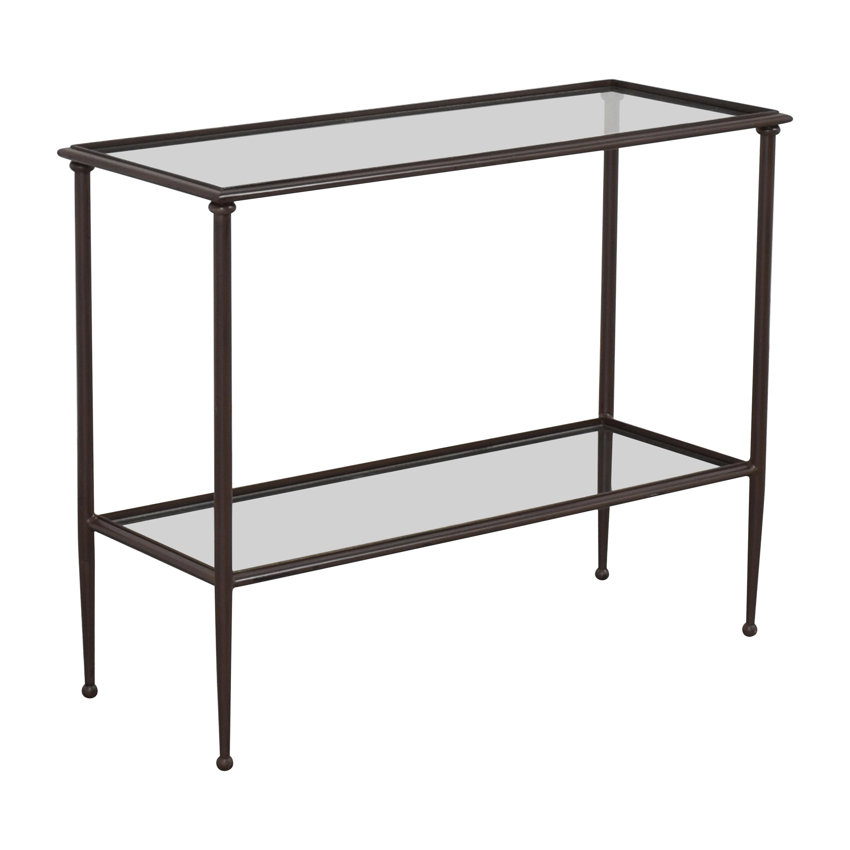 buy Crate & Barrel Pia Console Table Crate & Barrel