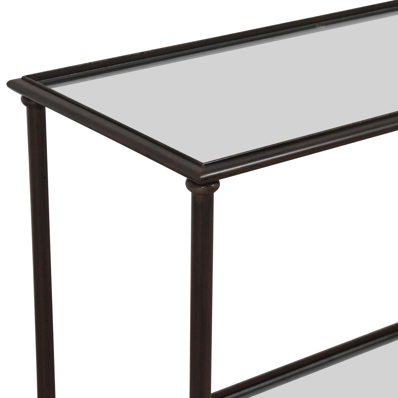 shop Crate & Barrel Pia Console Table Crate & Barrel