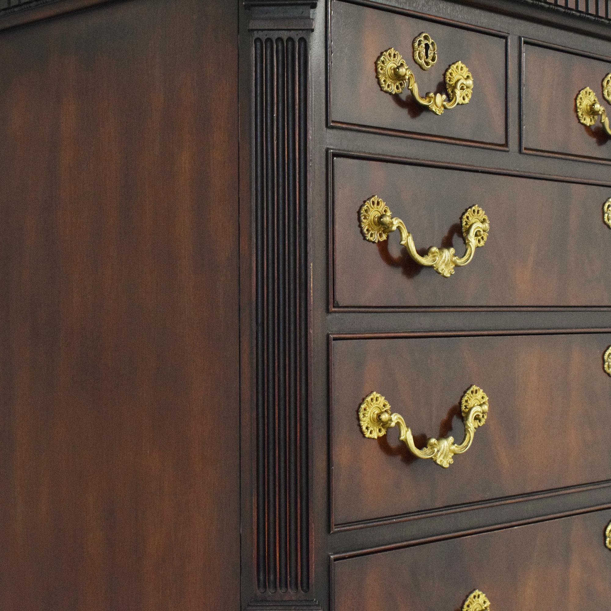 buy Ralph Lauren Chippendale Style Chest on Chest  Ralph Lauren Home Dressers