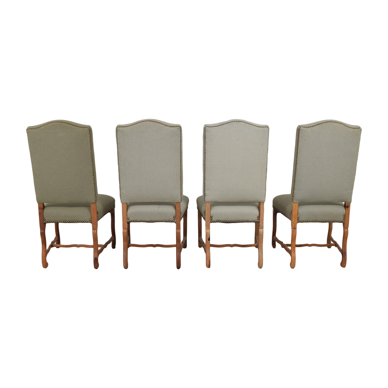 Ralph Lauren Home Ralph Lauren Home Os De Mouton Style Dining Chairs discount