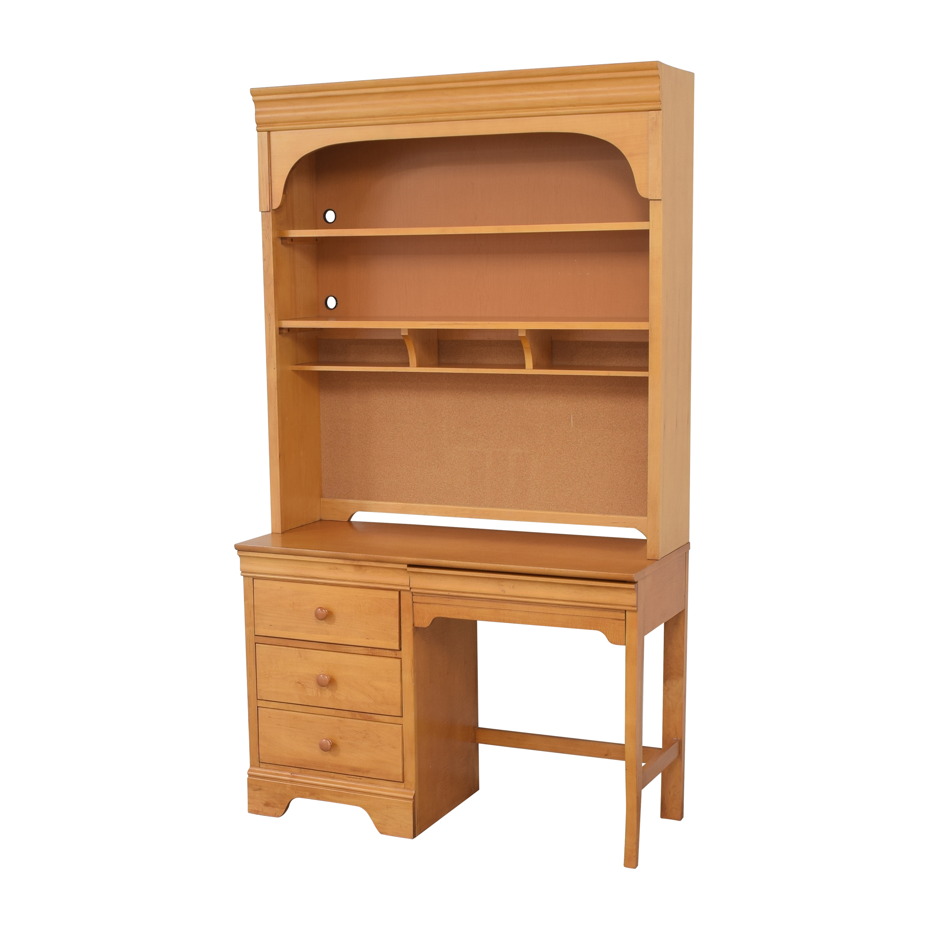 Stanley Furniture Stanley Furniture Young America Student Desk with Hutch Tables