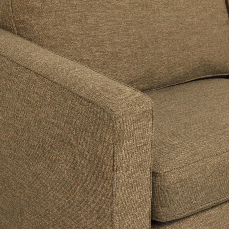Crate & Barrel Crate & Barrel Barrett Track Arm Sleeper Sofa price