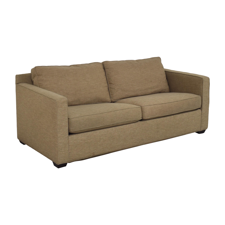 Crate & Barrel Barrett Track Arm Sleeper Sofa / Sofas