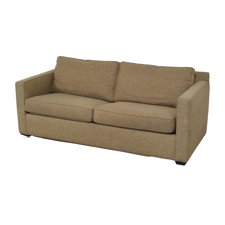 shop Crate & Barrel Crate & Barrel Barrett Track Arm Sleeper Sofa online