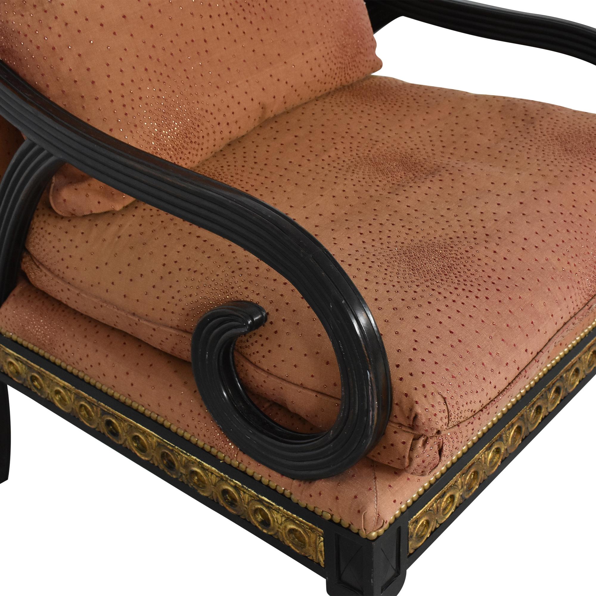 IMI Furniture Scroll Arm Accent Chair IMI Furniture