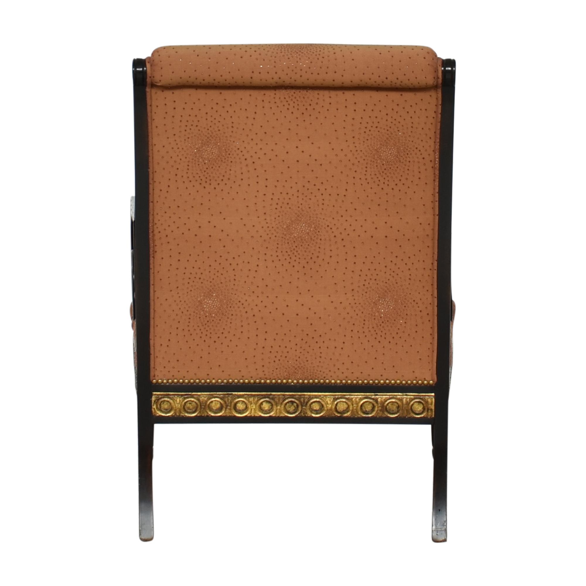 shop IMI Furniture Scroll Arm Accent Chair IMI Furniture