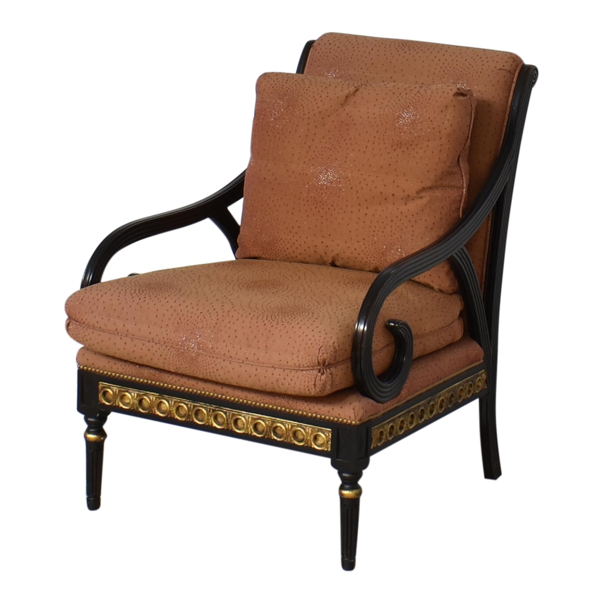 IMI Furniture IMI Furniture Scroll Arm Accent Chair on sale