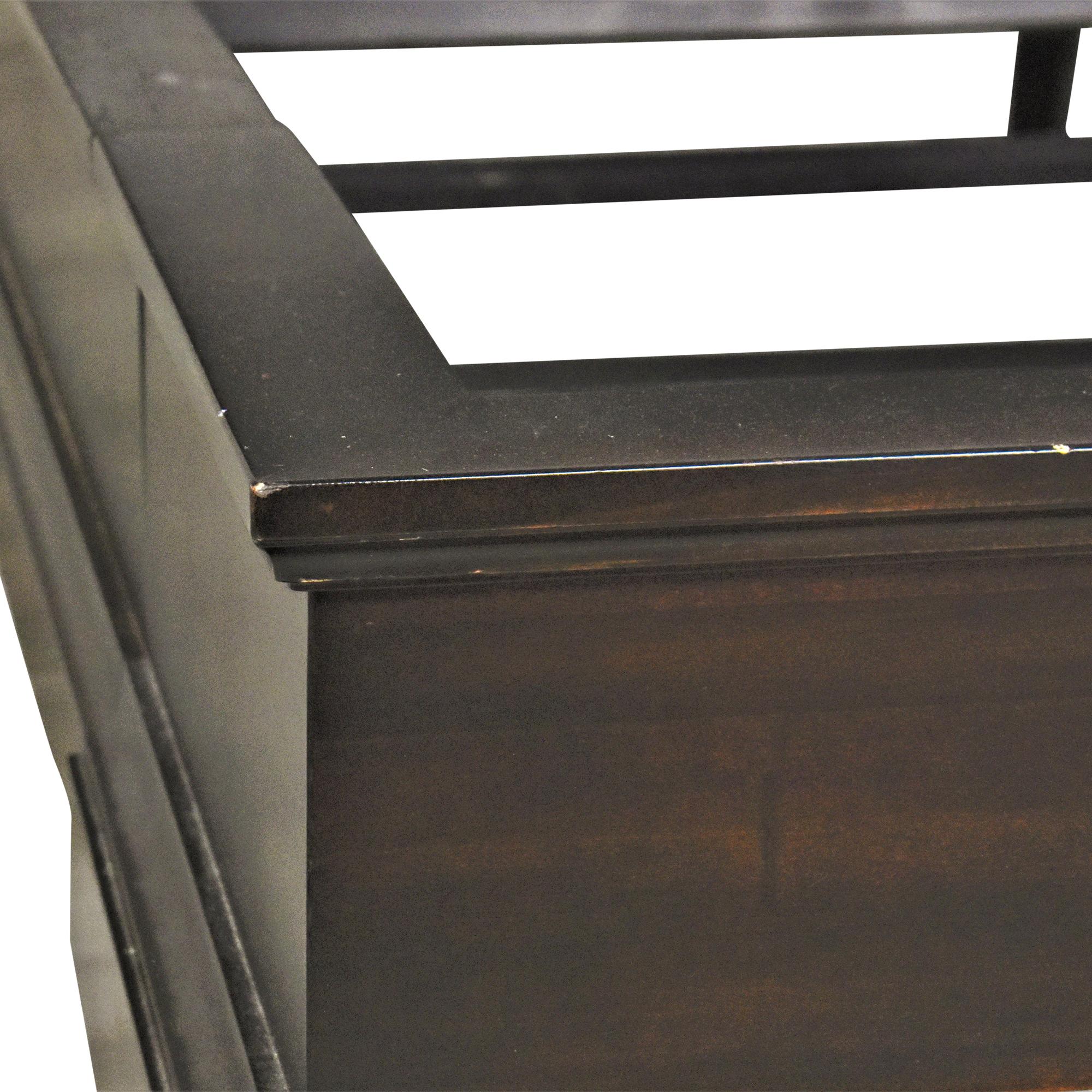 Restoration Hardware Marston Queen Sleigh Bed Restoration Hardware