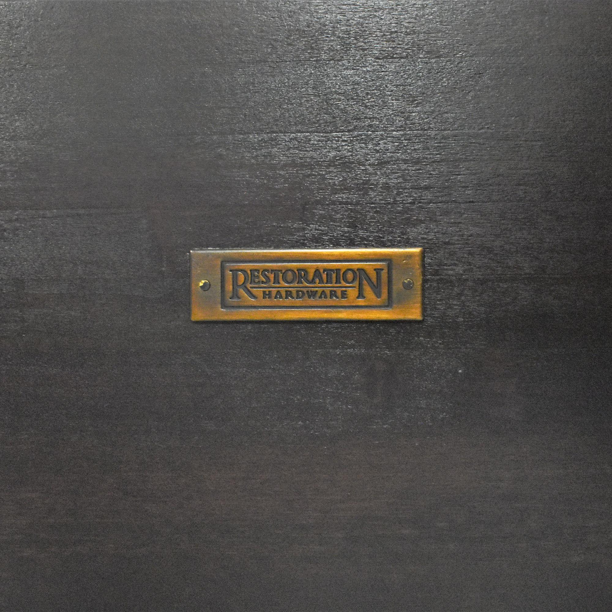 buy Restoration Hardware Restoration Hardware Marston Queen Sleigh Bed online