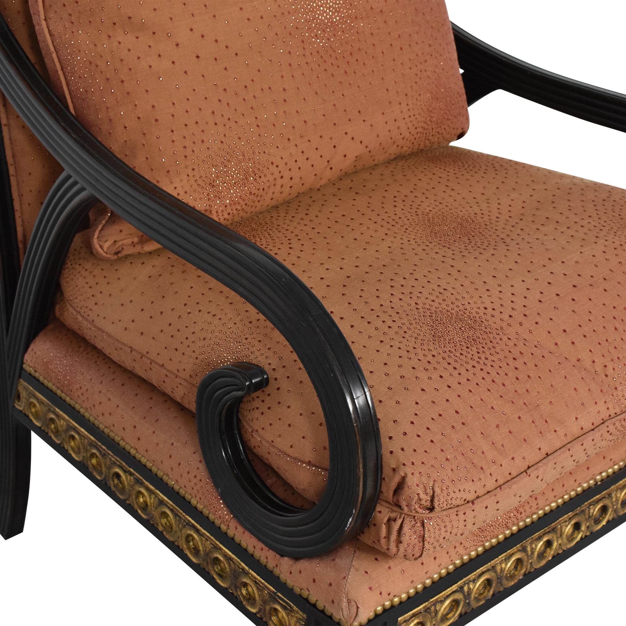 IMI Furniture IMI Furniture Scroll Arm Accent Chair ct