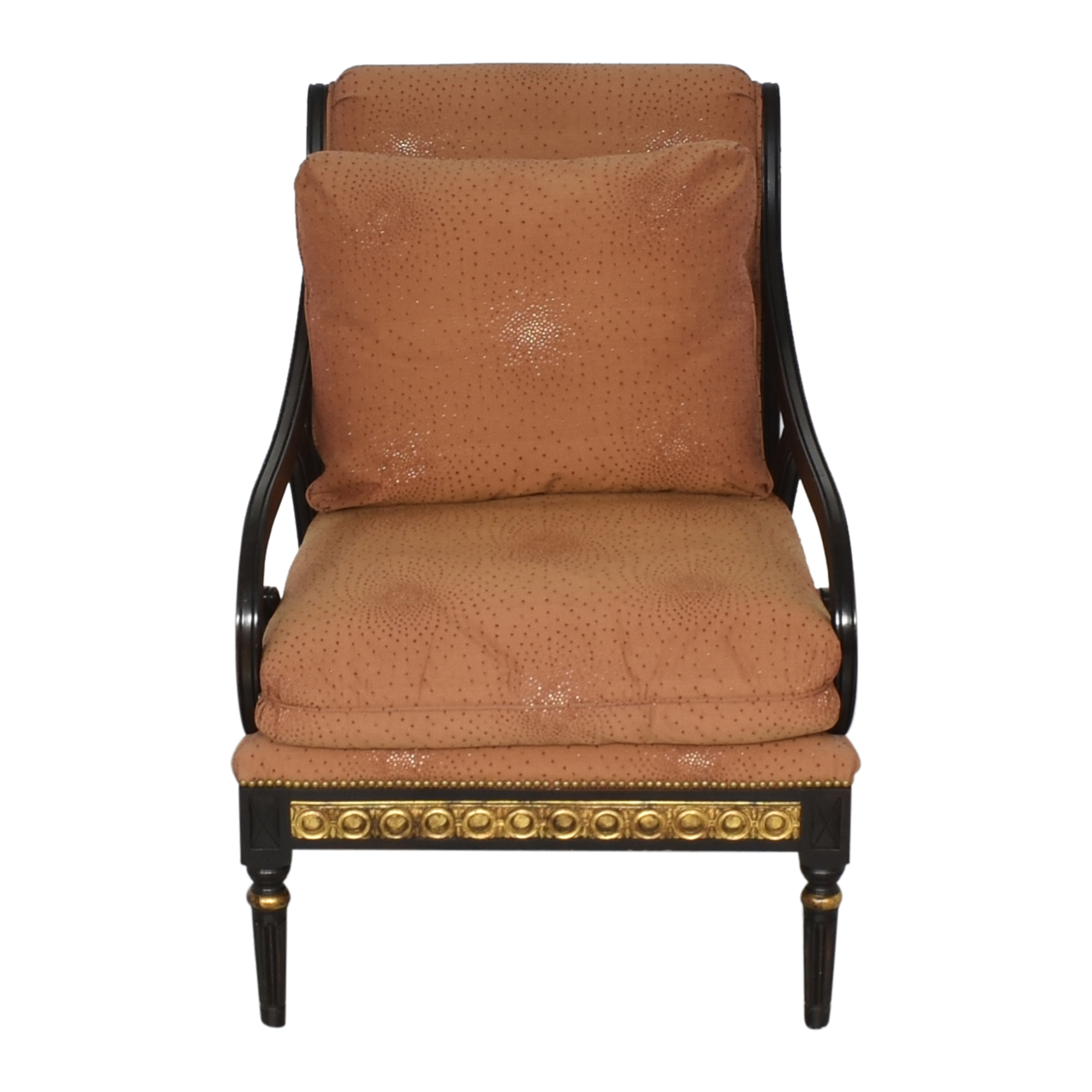 IMI Furniture Scroll Arm Accent Chair / Accent Chairs