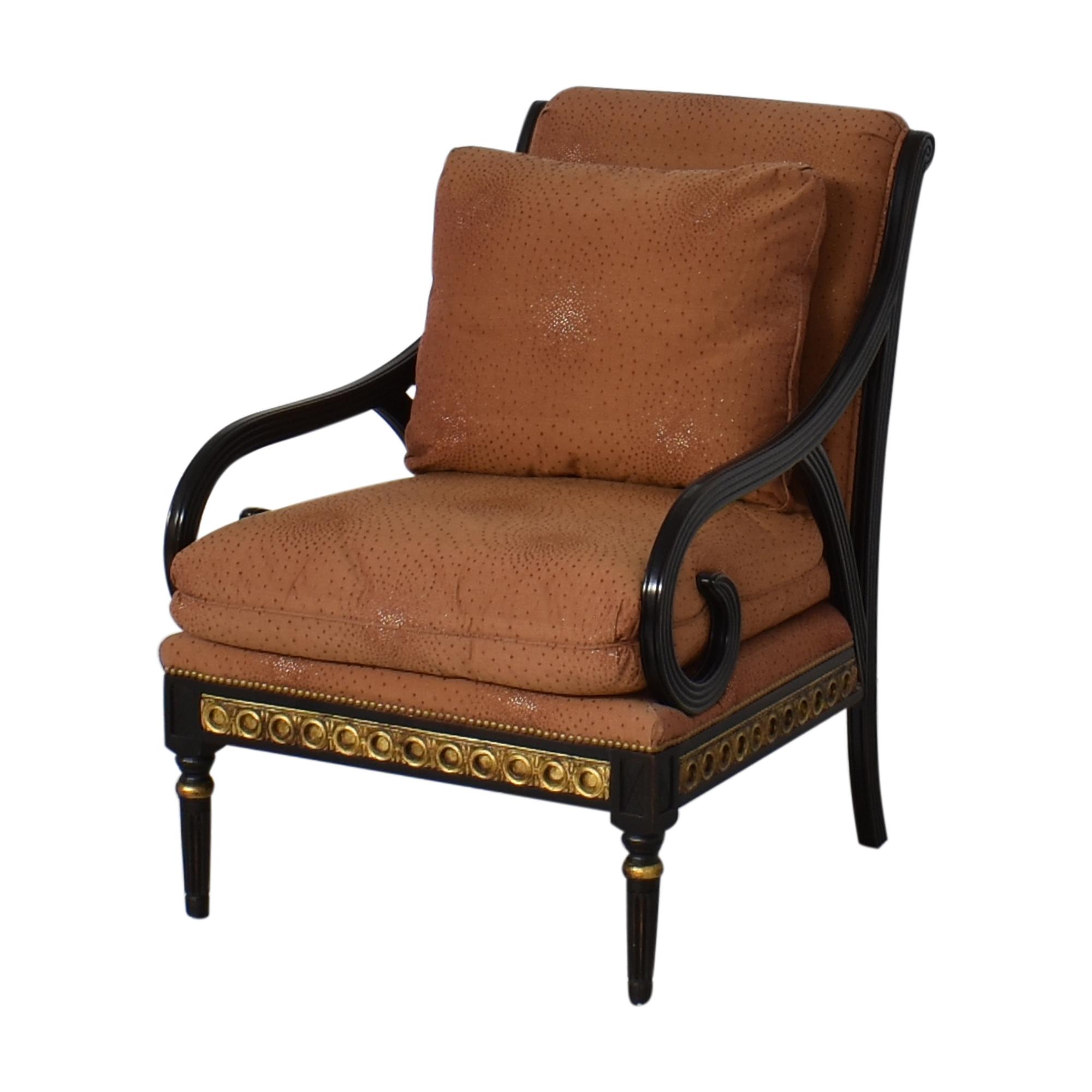 IMI Furniture IMI Furniture Scroll Arm Accent Chair dimensions