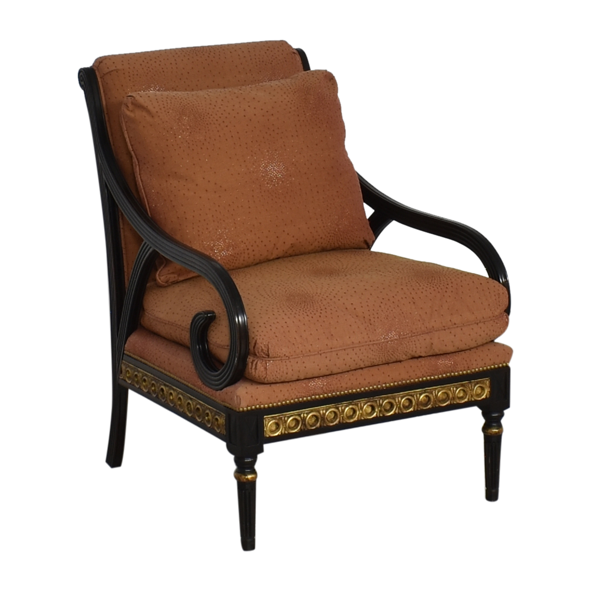 IMI Furniture IMI Furniture Scroll Arm Accent Chair pa