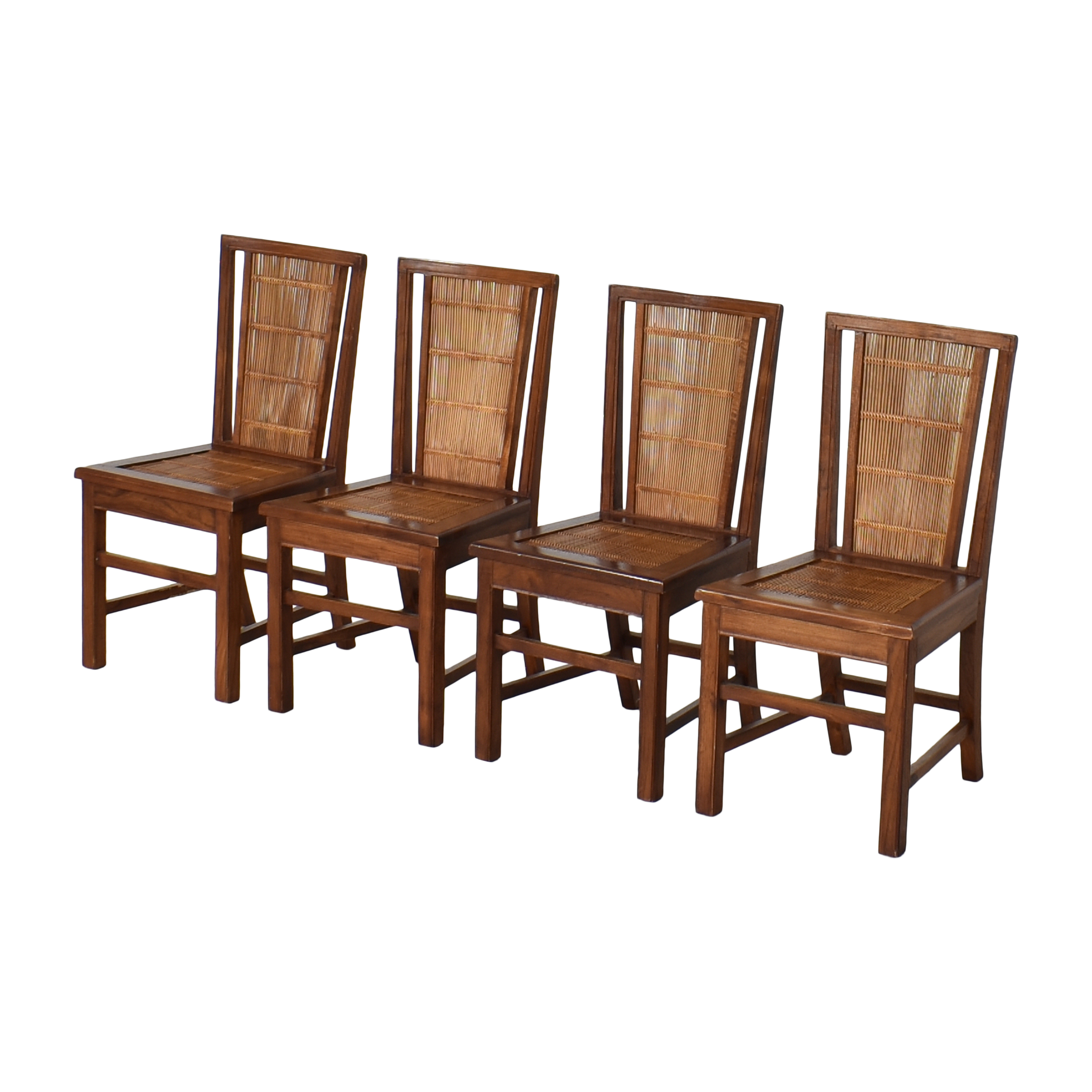 Woven Back Dining Side Chairs coupon