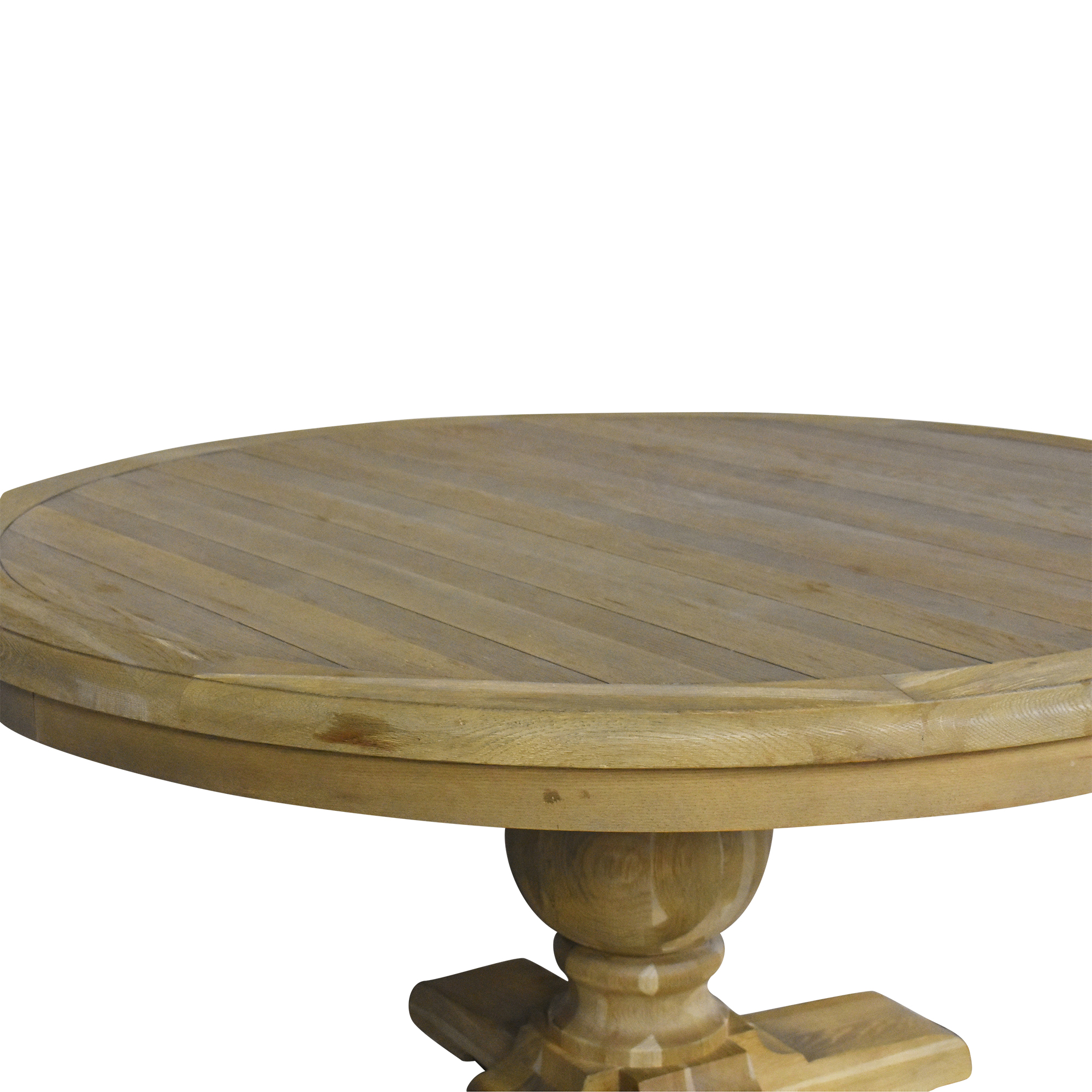 Zin Home Zin Home Kingdom Round Pedestal Dining Table second hand