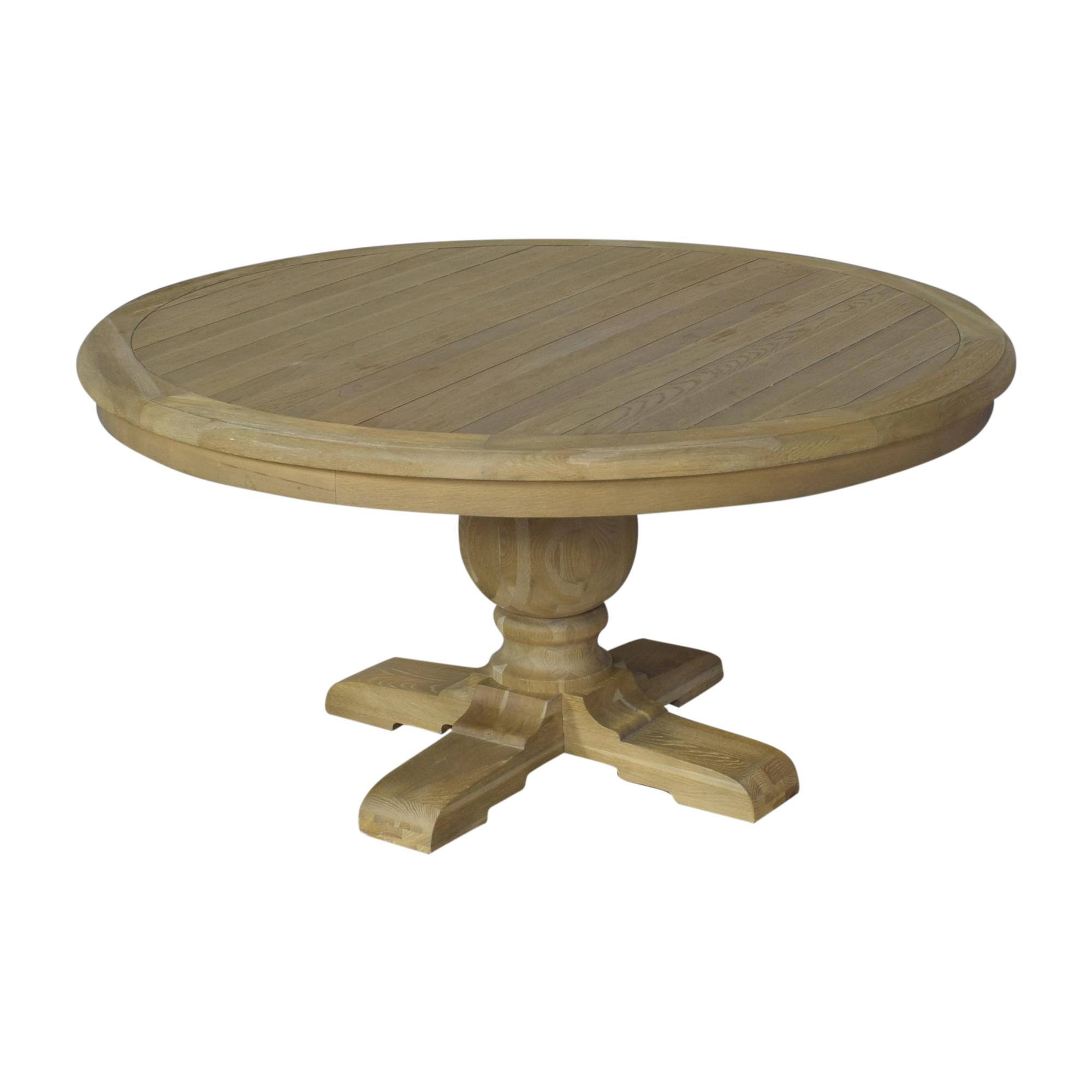 Zin Home Zin Home Kingdom Round Pedestal Dining Table