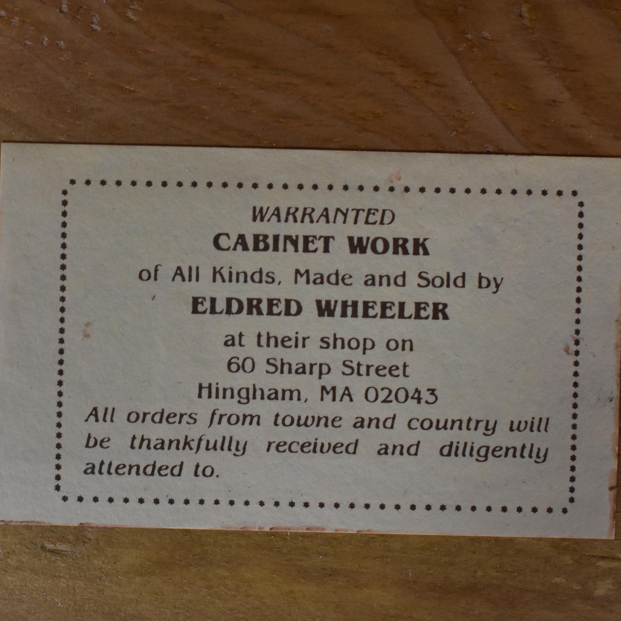 Eldred Wheeler Eldred Wheeler Four Drawer Serpentine Chest on sale