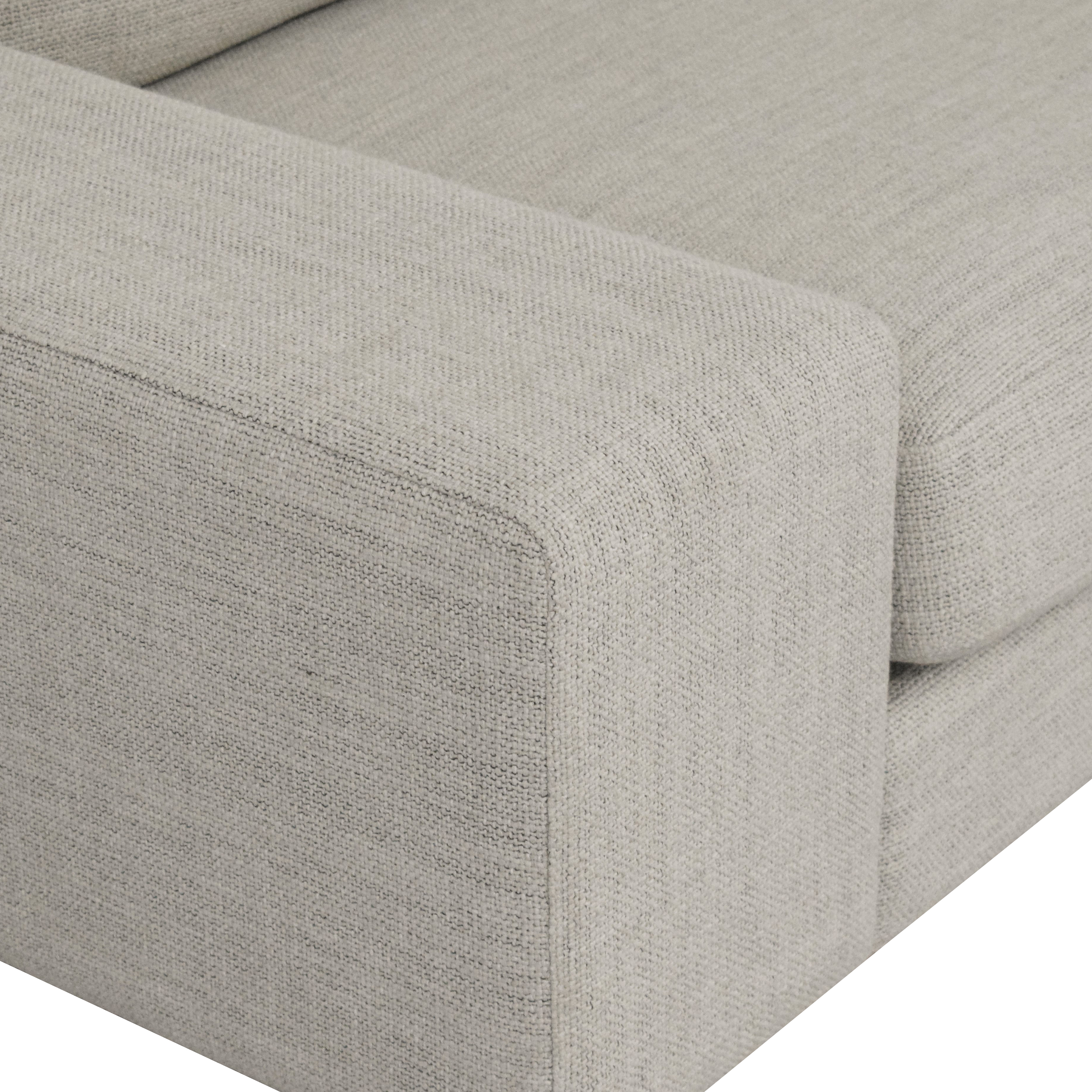Design Within Reach Design Within Reach Arena Sofa dimensions