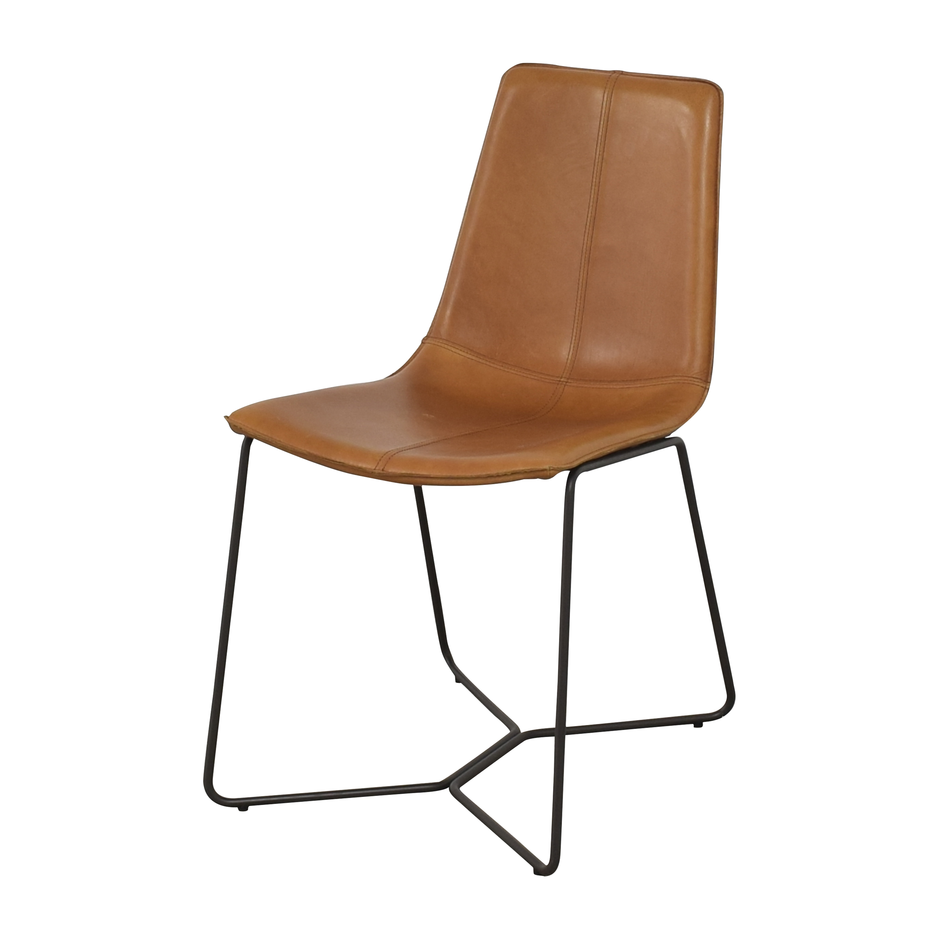 West Elm Slope Dining Chairs sale