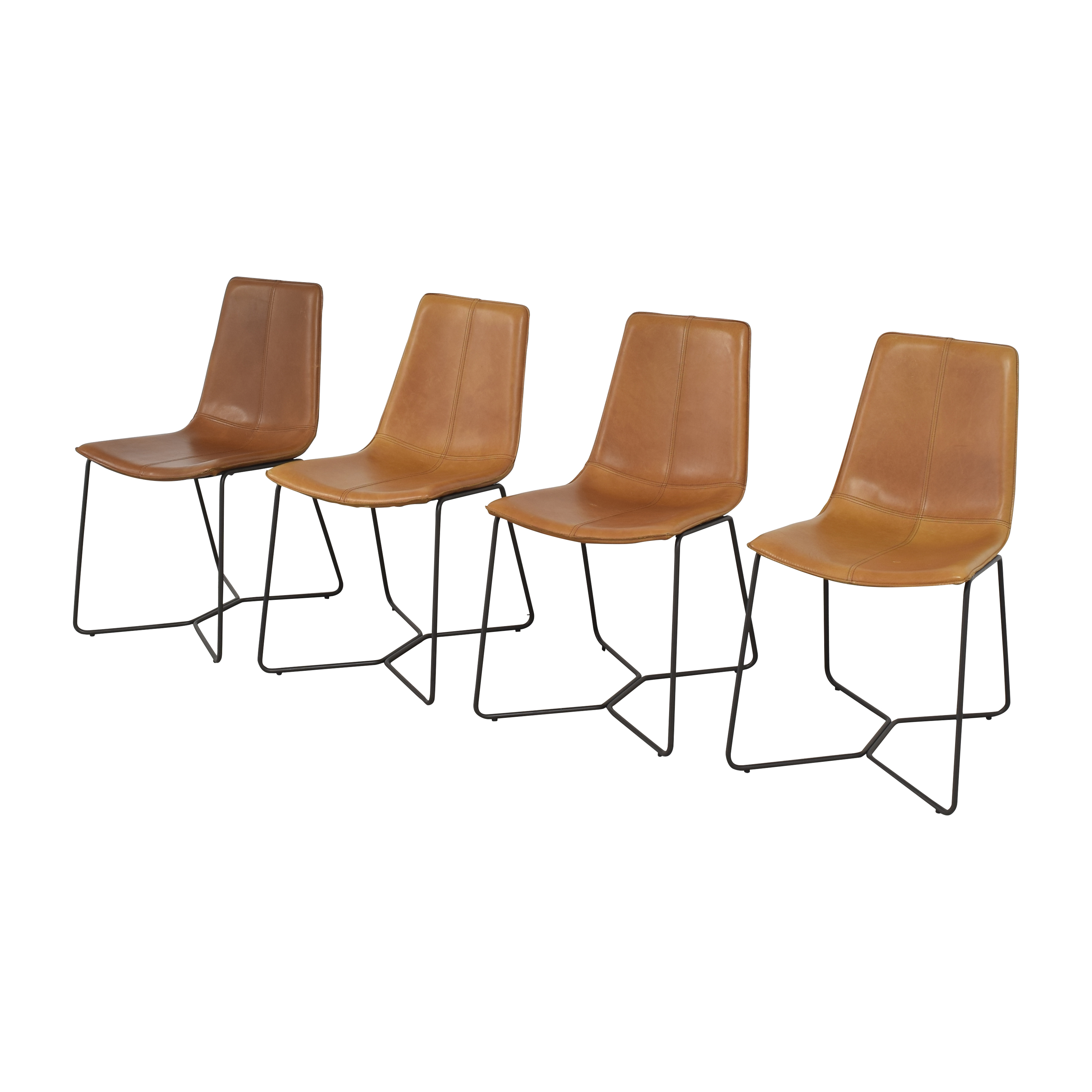 West Elm West Elm Slope Dining Chairs Chairs