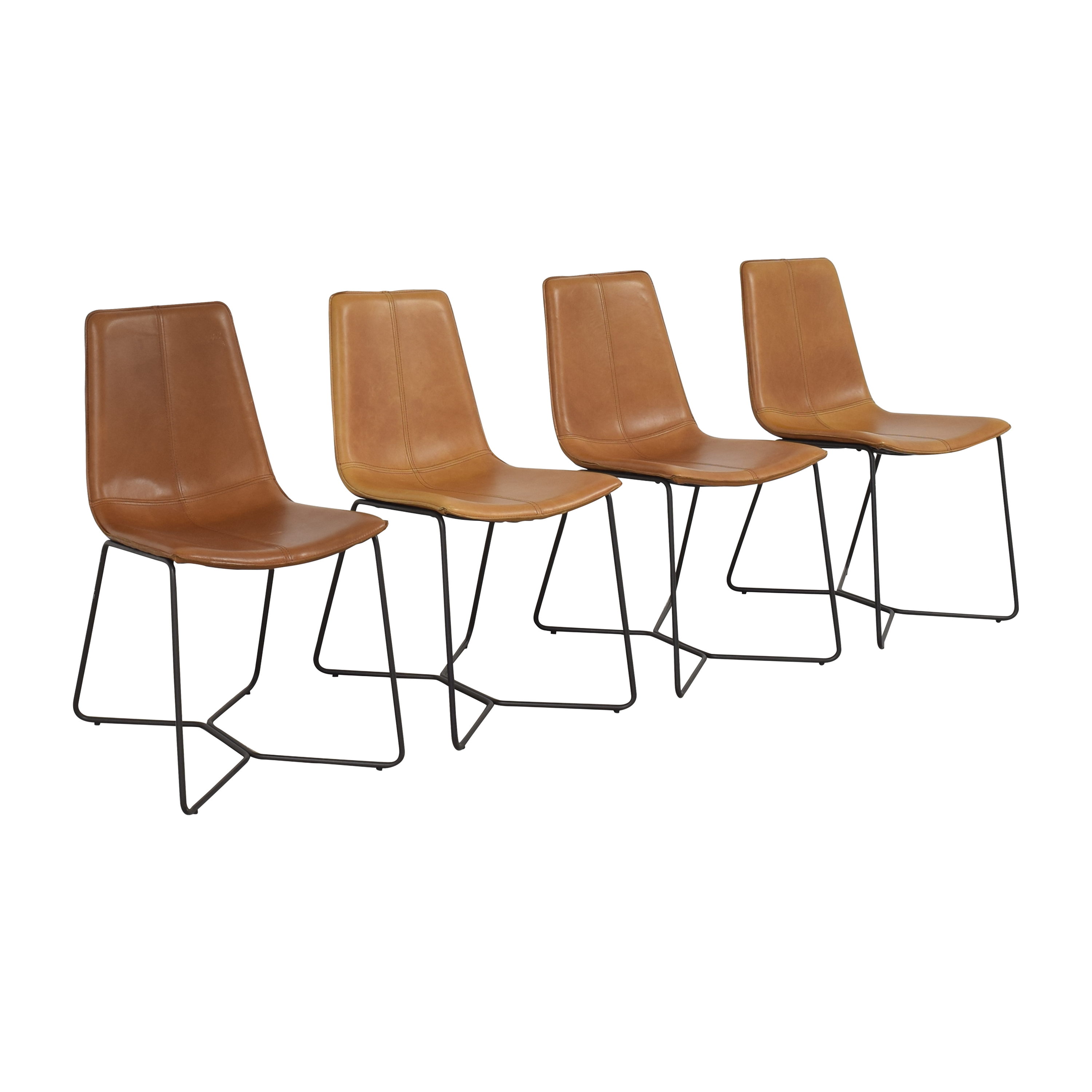 buy West Elm Slope Dining Chairs West Elm
