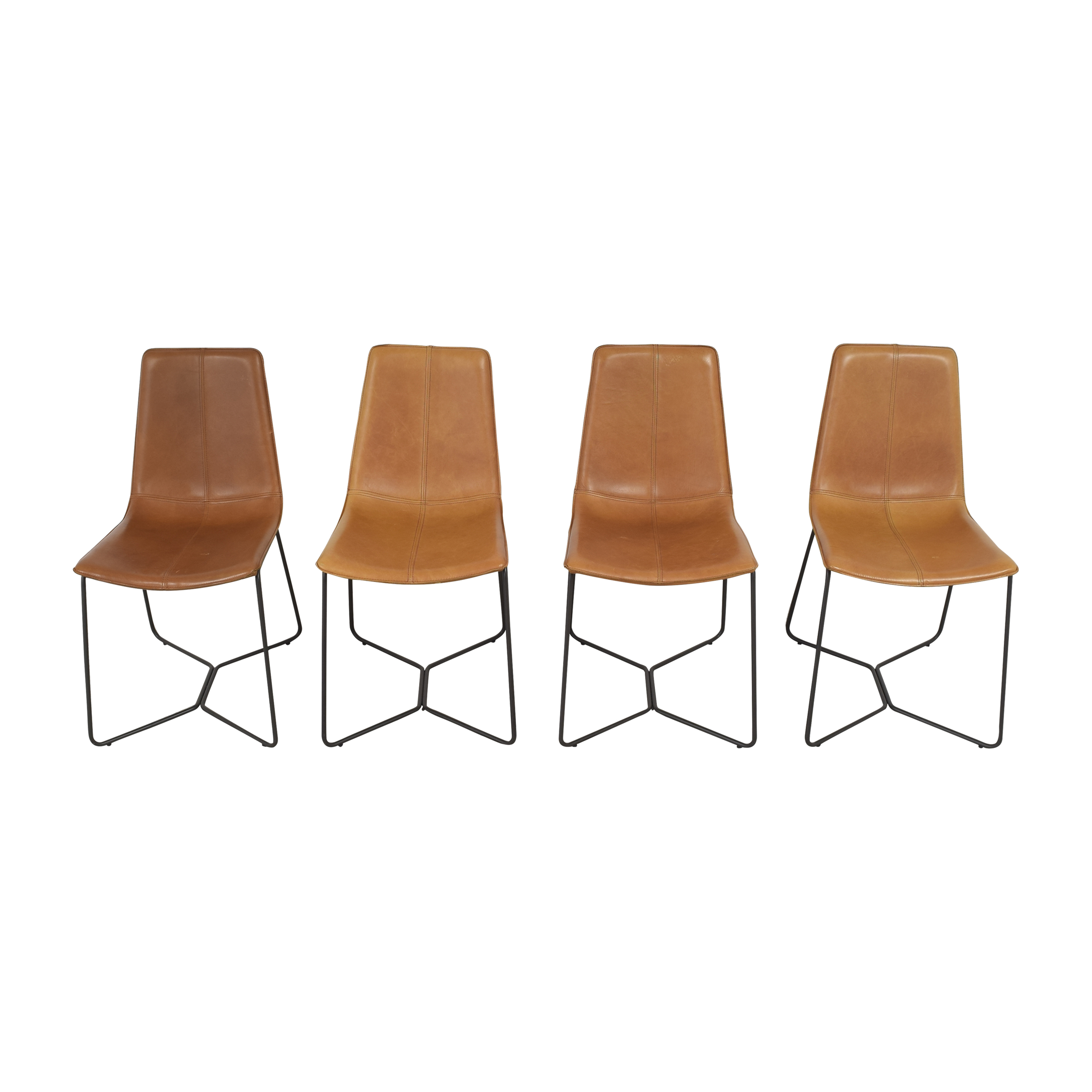 West Elm West Elm Slope Dining Chairs nyc
