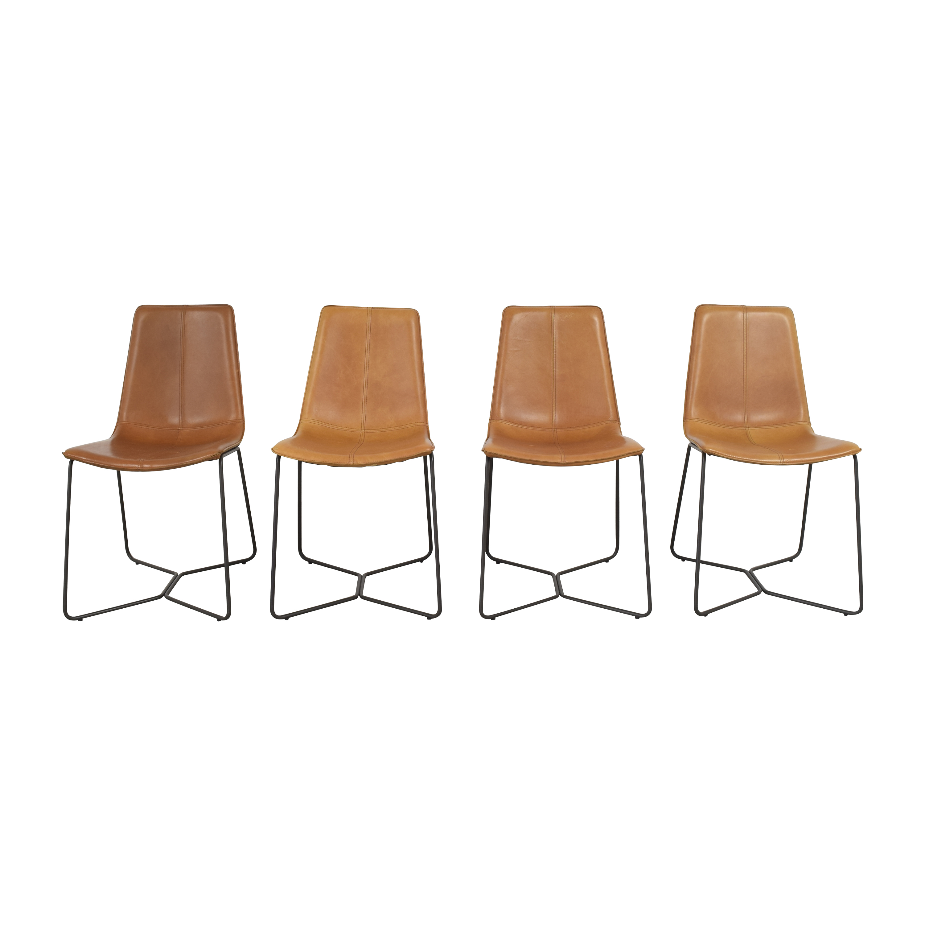 West Elm West Elm Slope Dining Chairs price