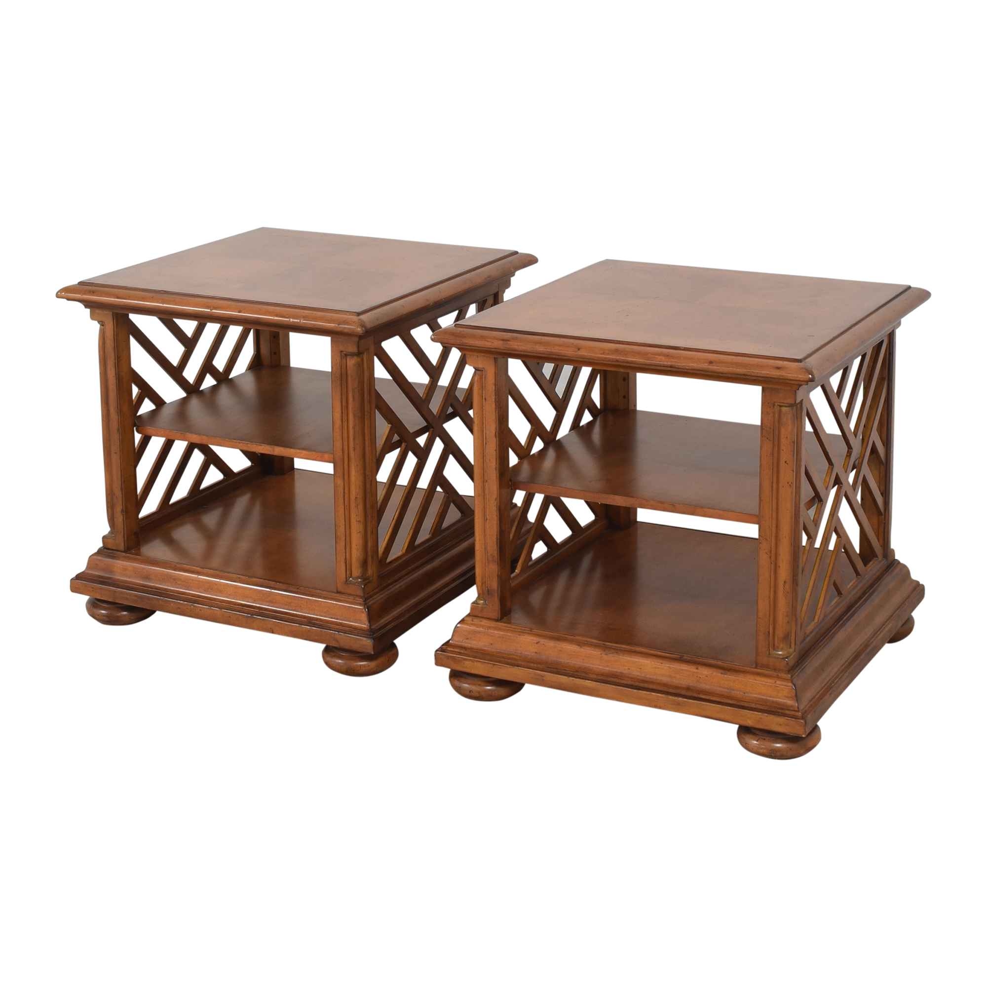 Tommy Bahama Home Island Estate Cliff House Book Tables / Tables