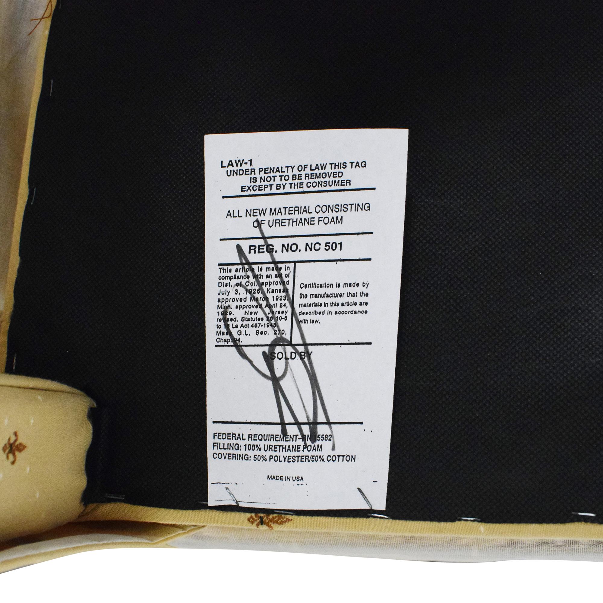 Ballard Designs Ballard Designs Fleur De Lis Parsons Dining Chairs cream