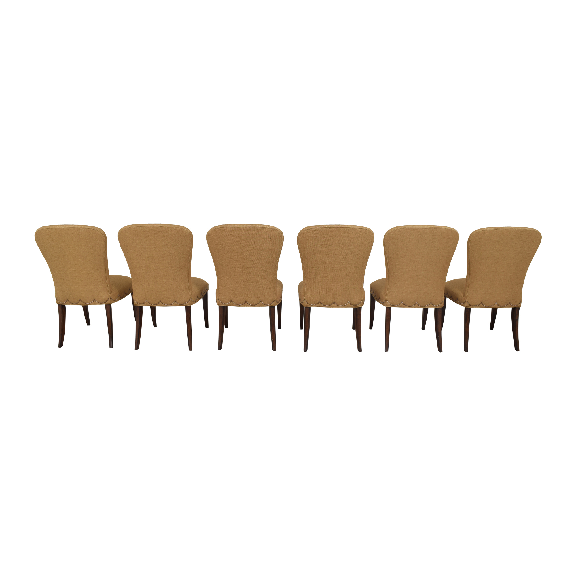 buy Furniture Brands International Scalloped Nailhead Dining Chairs Furniture Brands International Chairs
