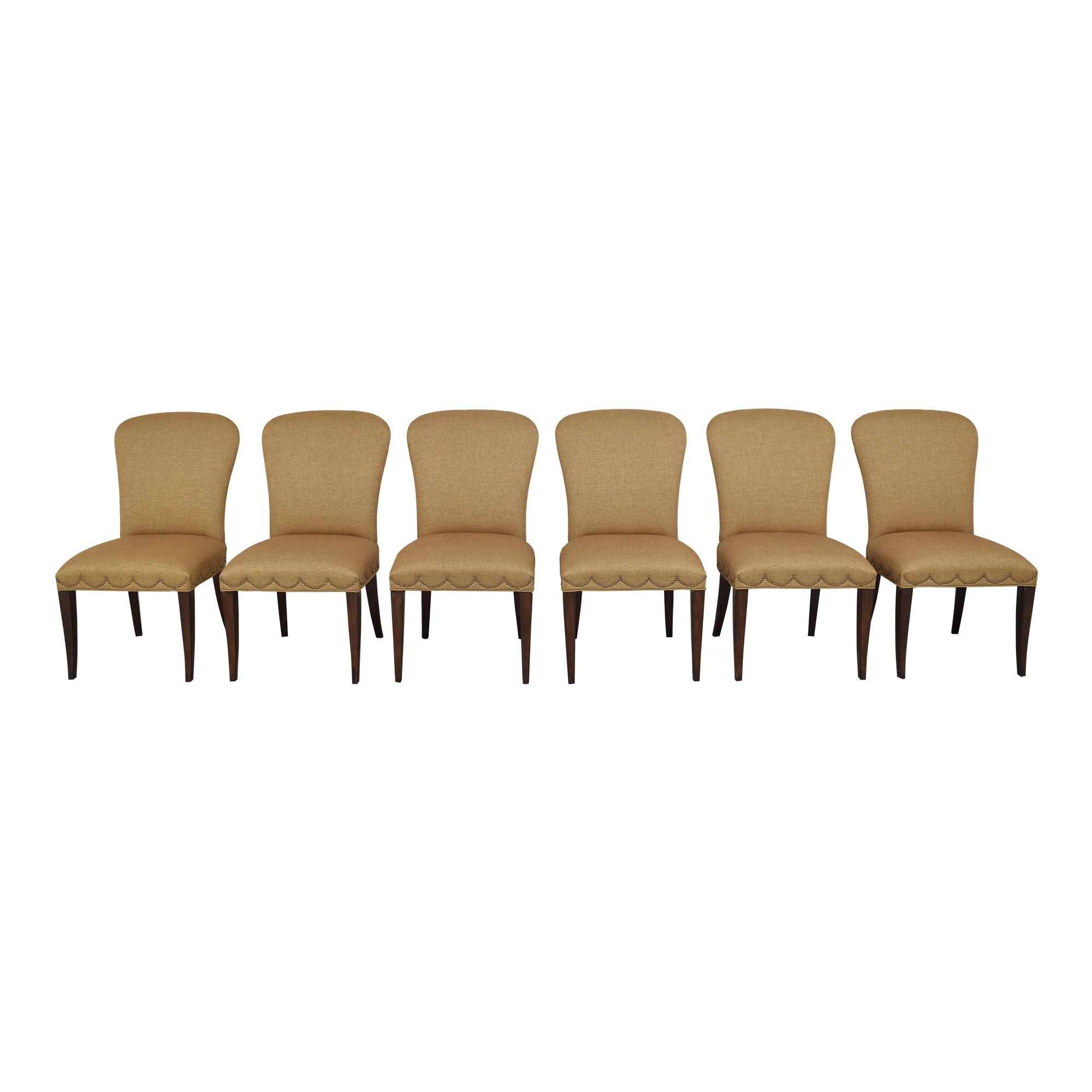 Furniture Brands International Furniture Brands International Scalloped Nailhead Dining Chairs price