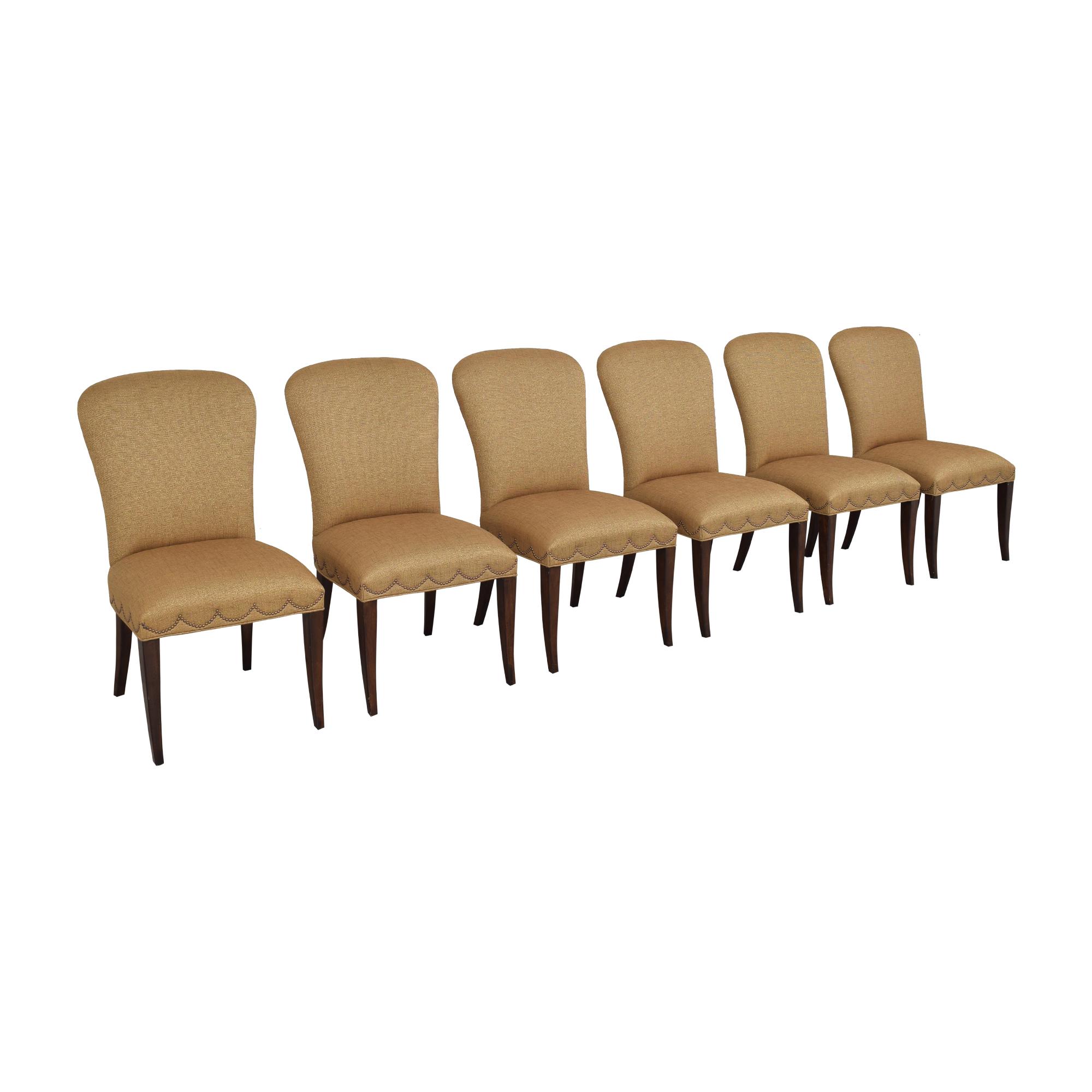 shop Furniture Brands International Furniture Brands International Scalloped Nailhead Dining Chairs online