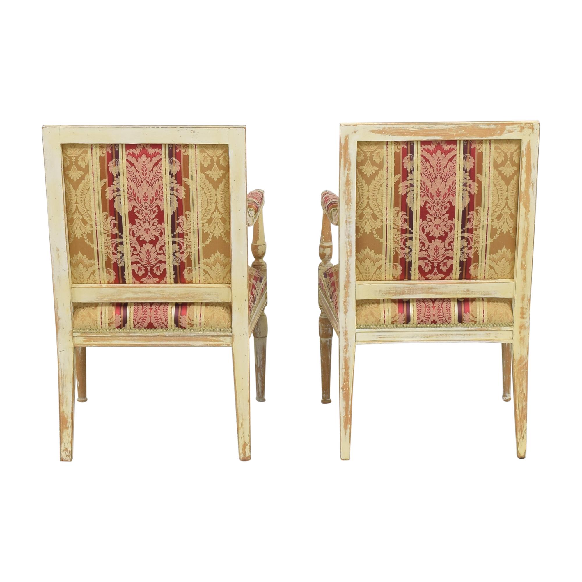 ABC Carpet & Home ABC Carpet & Home Louis XVI Style Chairs for sale