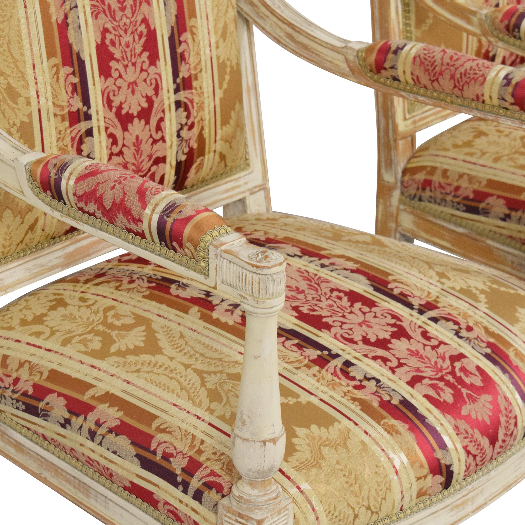 ABC Carpet & Home ABC Carpet & Home Louis XVI Style Chairs discount
