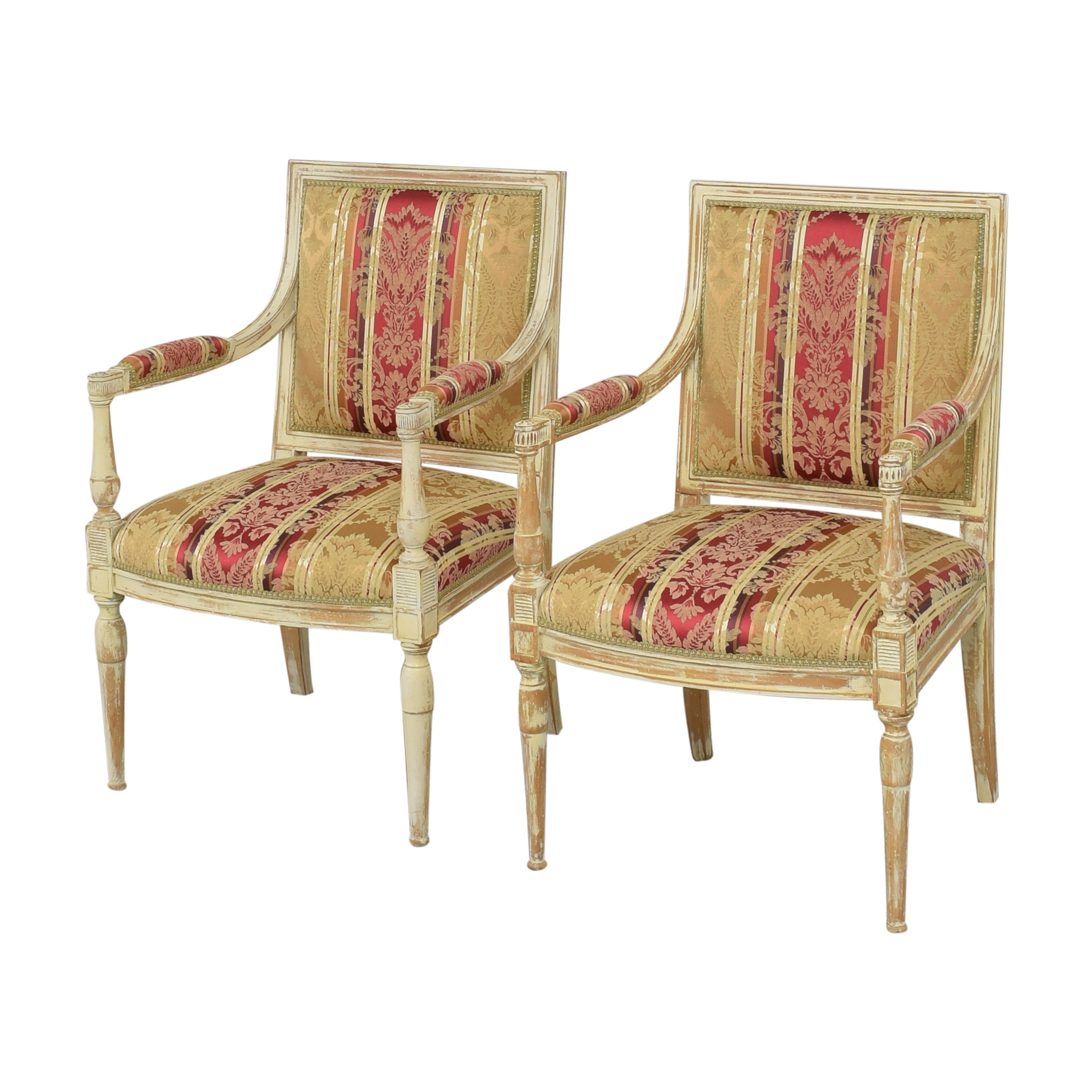 ABC Carpet & Home Louis XVI Style Chairs ABC Carpet & Home