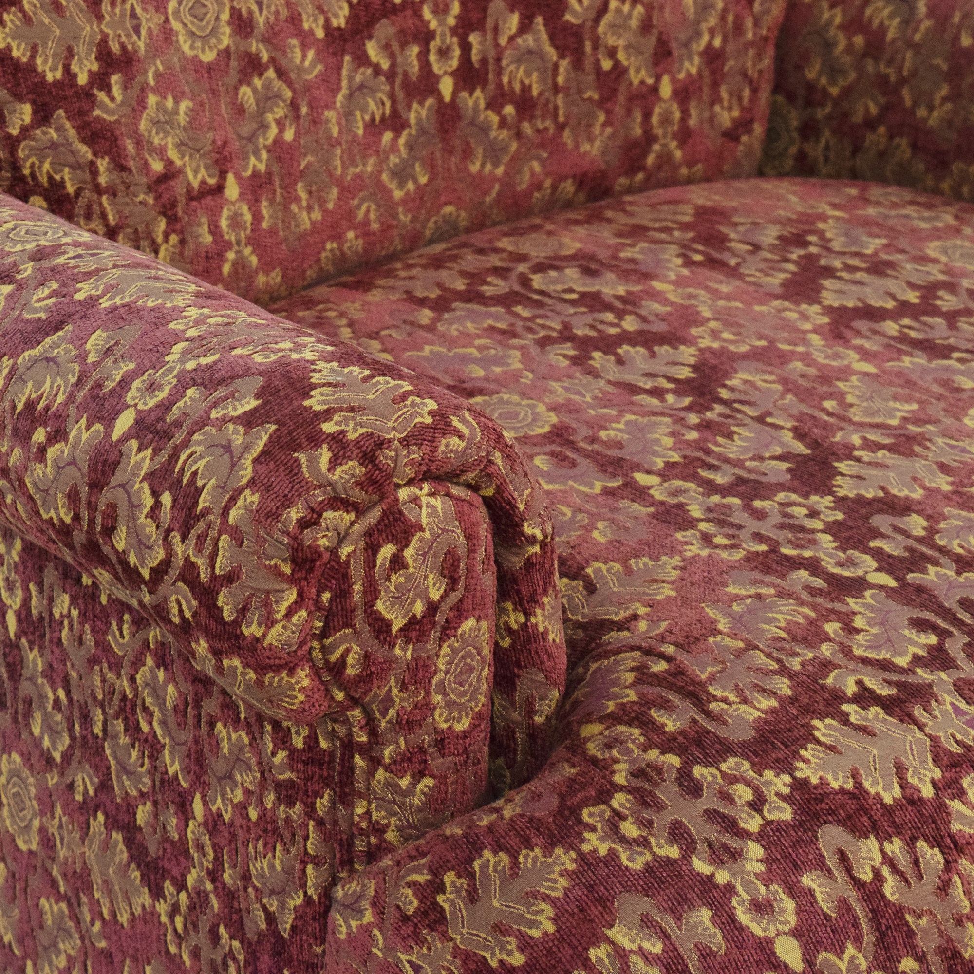 Roll Arm Accent Chair nyc