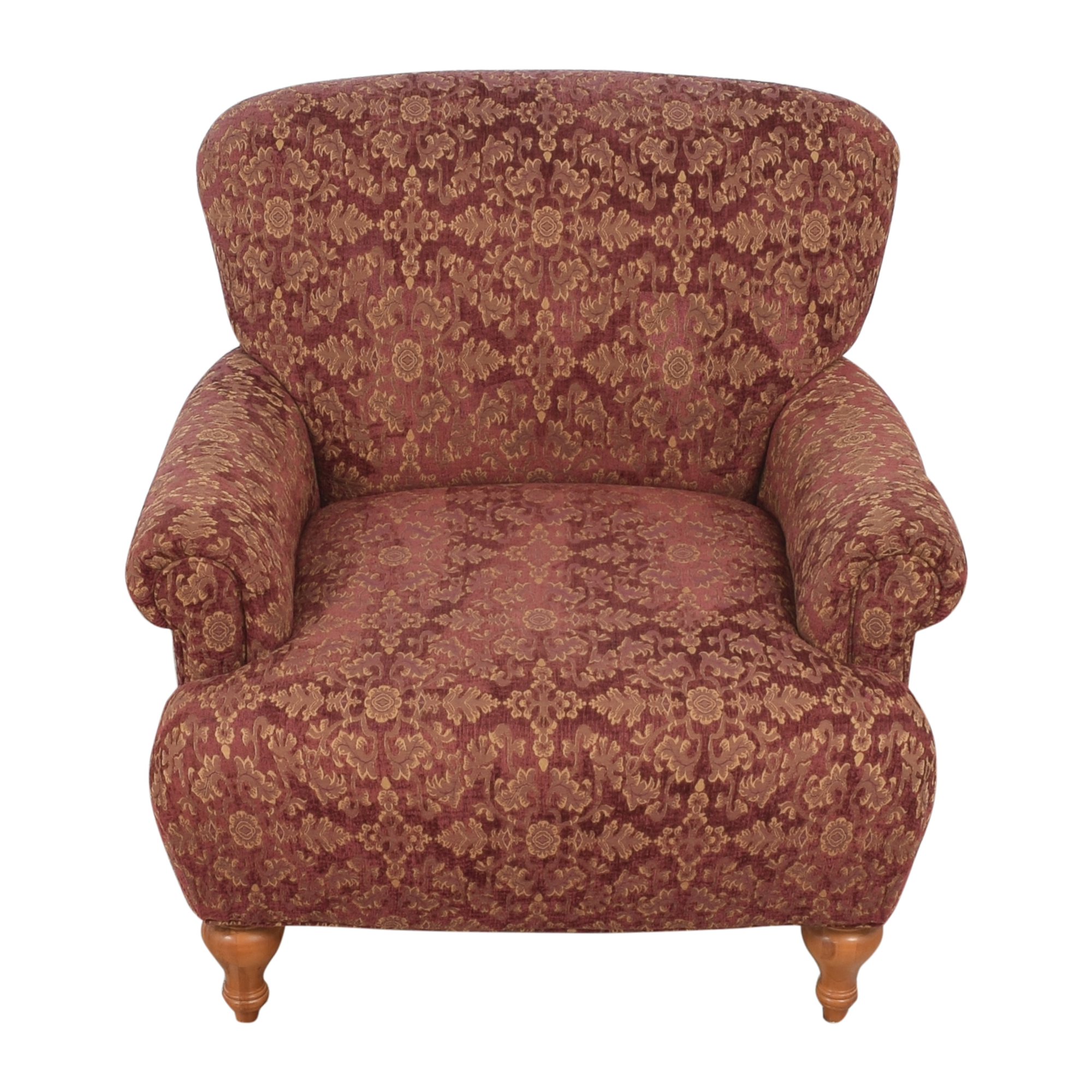 Roll Arm Accent Chair pa