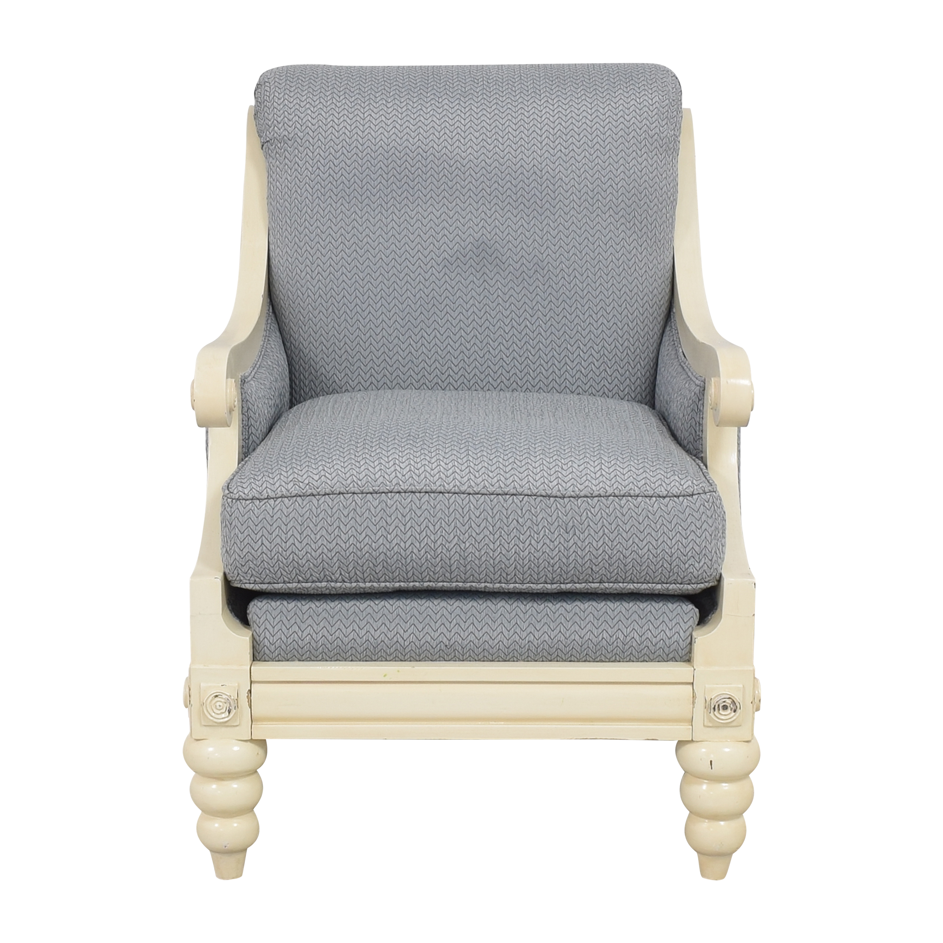 Accent Chair with Ottoman dimensions