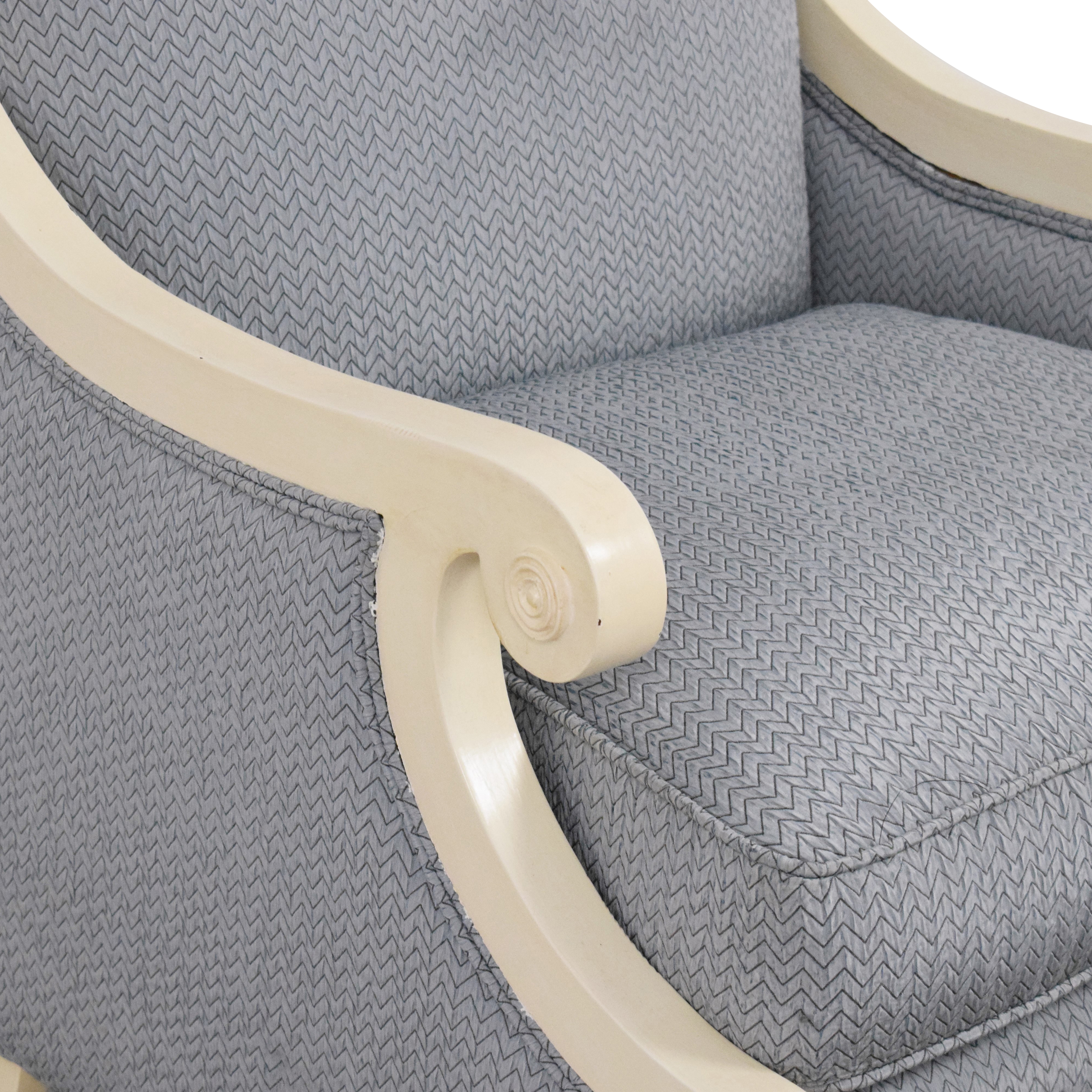 Accent Chair with Ottoman / Chairs