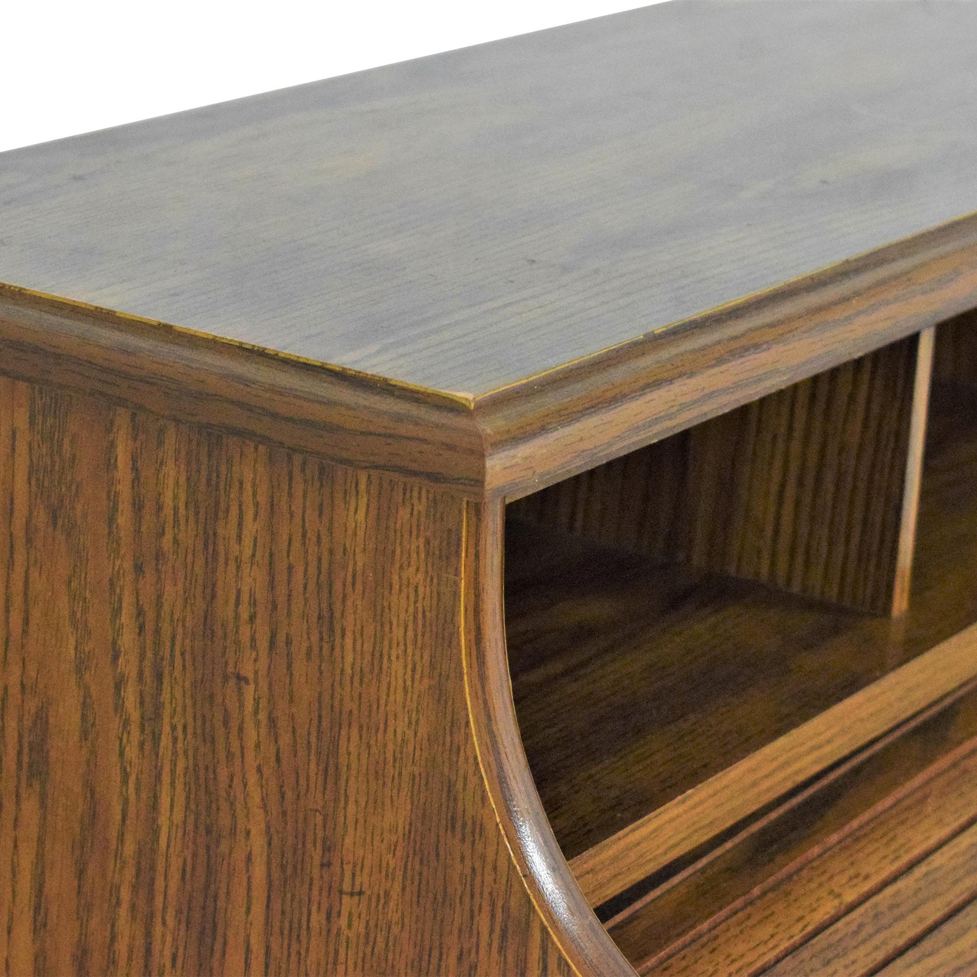 Roll Top Double Pedestal Desk sale