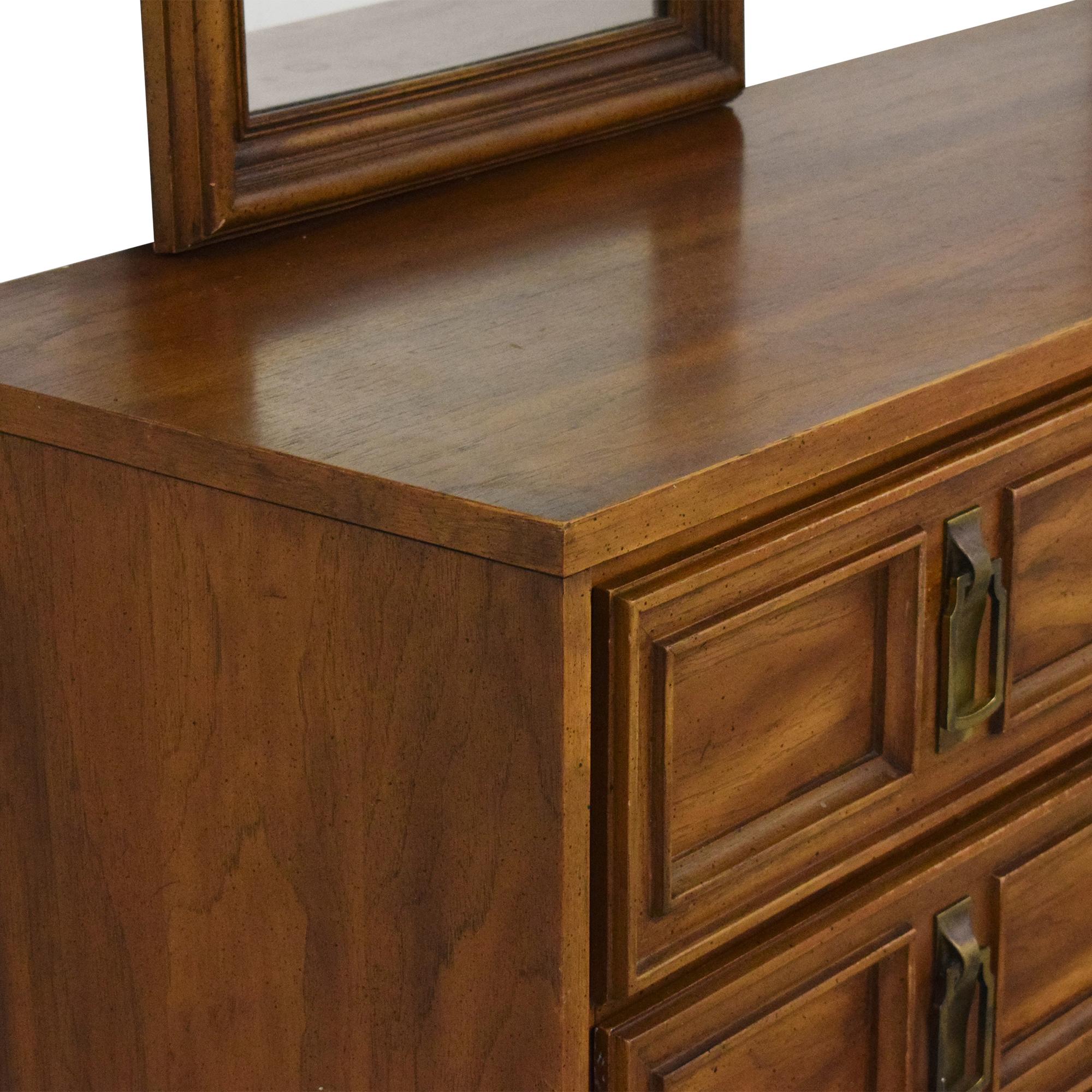 Stanley Furniture Stanley Furniture Triple Dresser with Mirrors