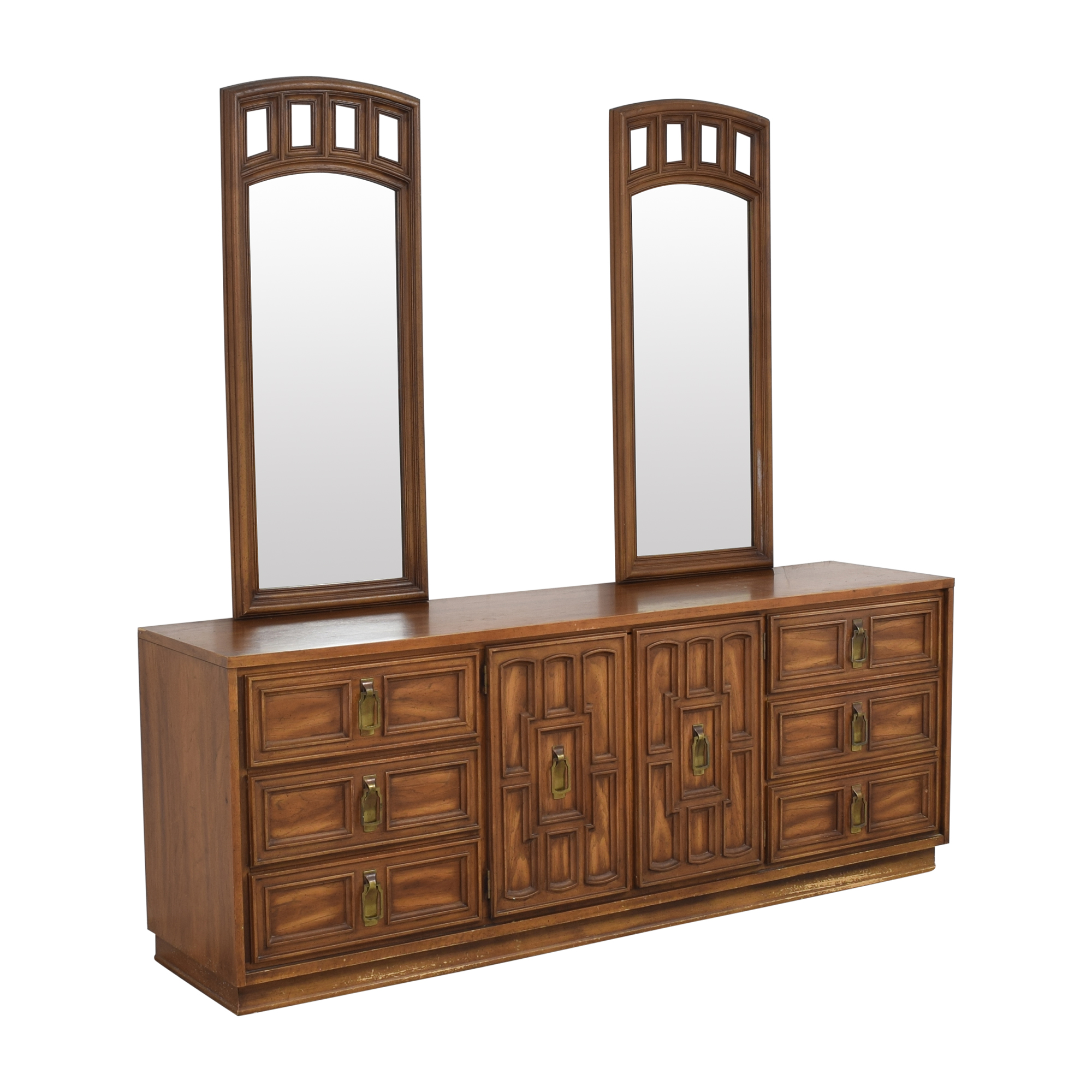 Stanley Furniture Stanley Furniture Triple Dresser with Mirrors for sale