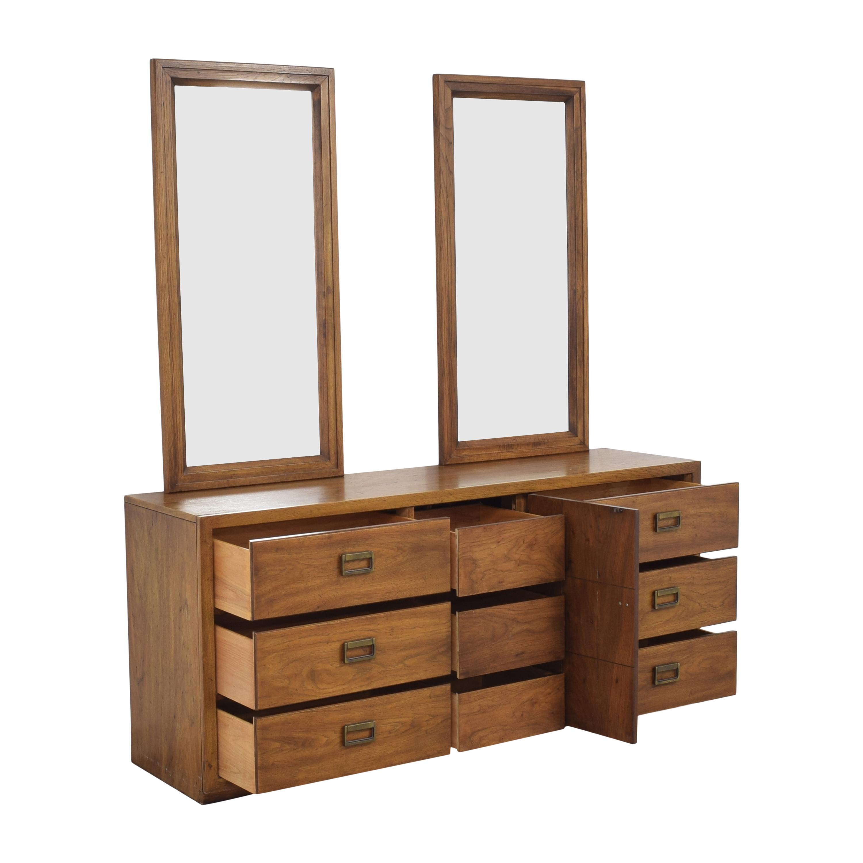 buy Huntley Huntley Triple Dresser with Mirrors online