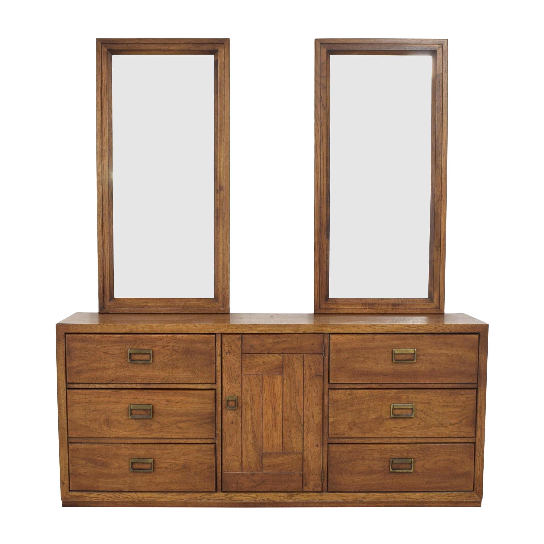 Huntley Huntley Triple Dresser with Mirrors pa