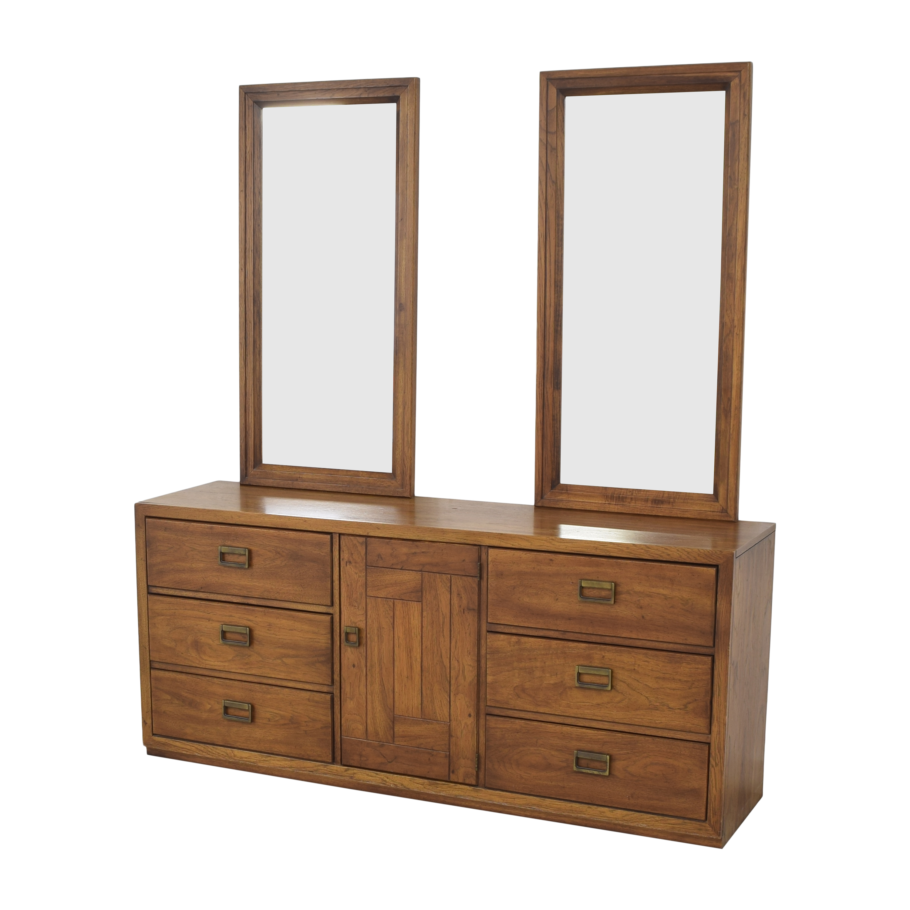 Huntley Huntley Triple Dresser with Mirrors coupon