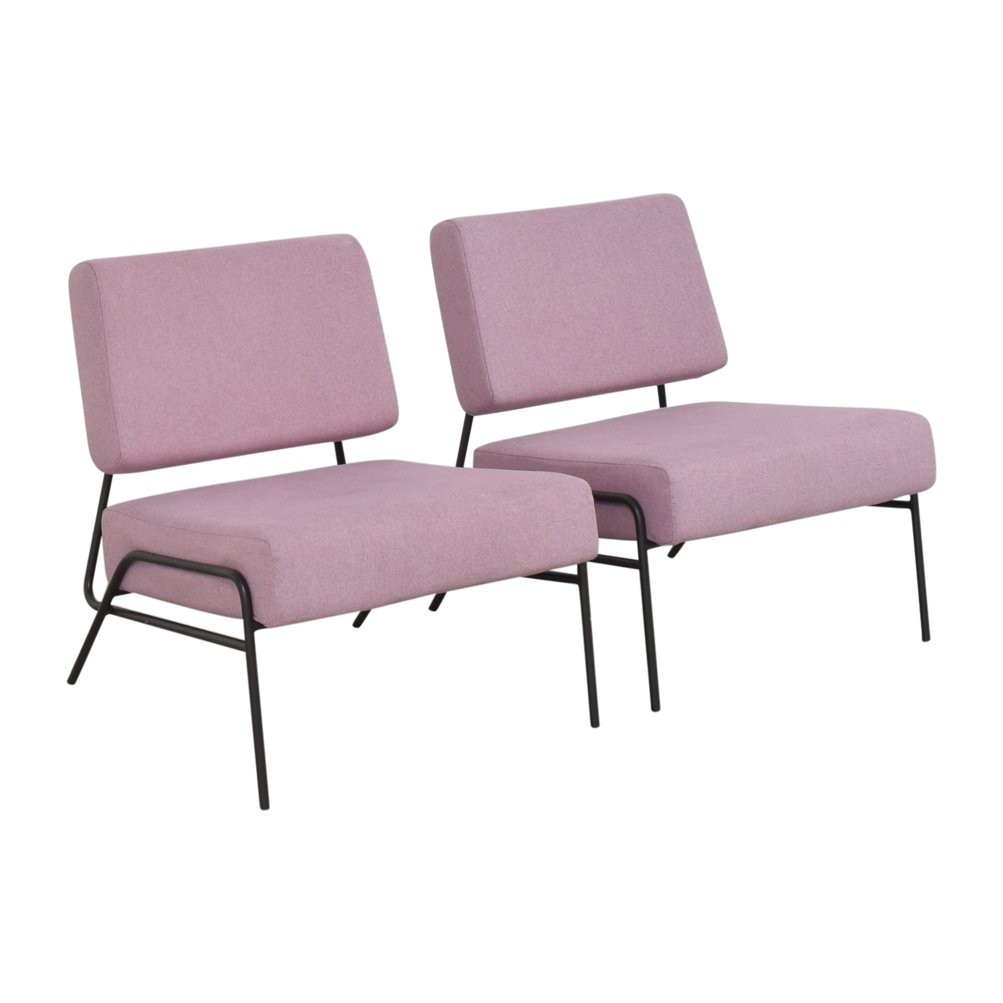 West Elm West Elm Wire Frame Slipper Chairs on sale