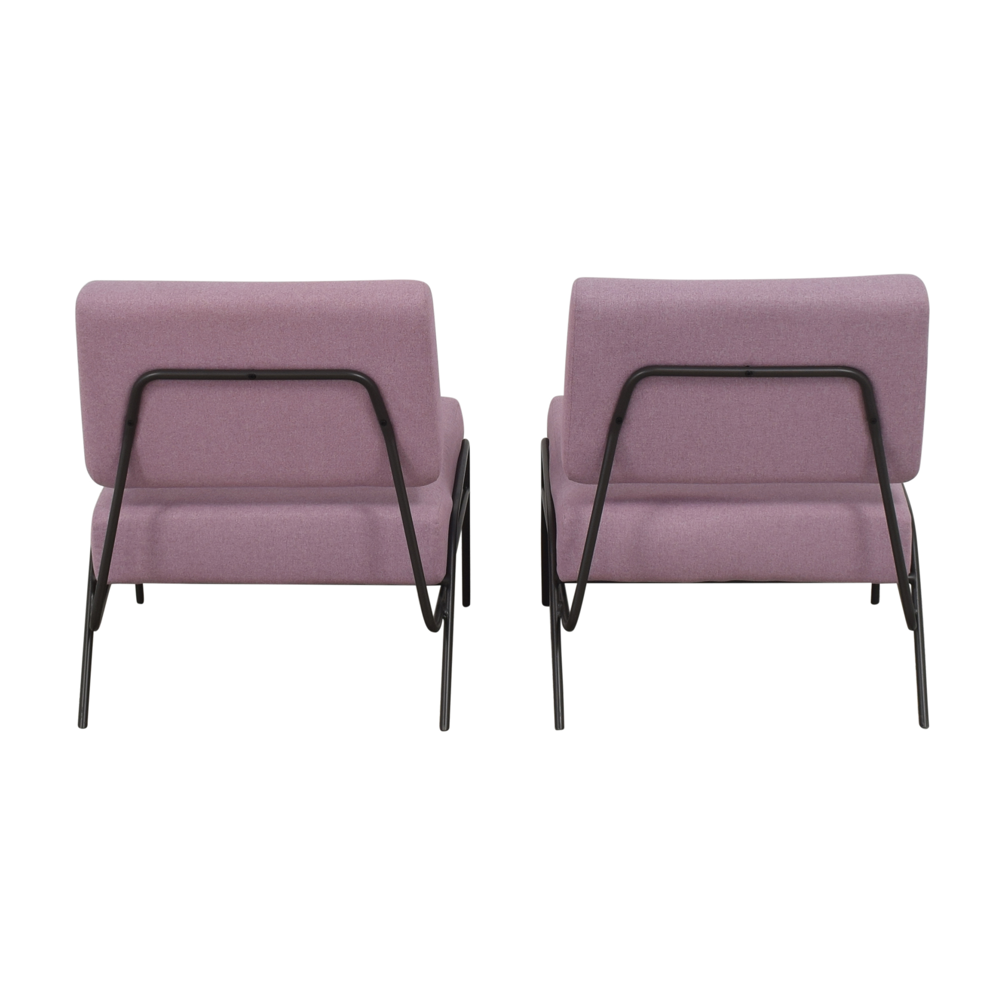shop West Elm Wire Frame Slipper Chairs West Elm Accent Chairs