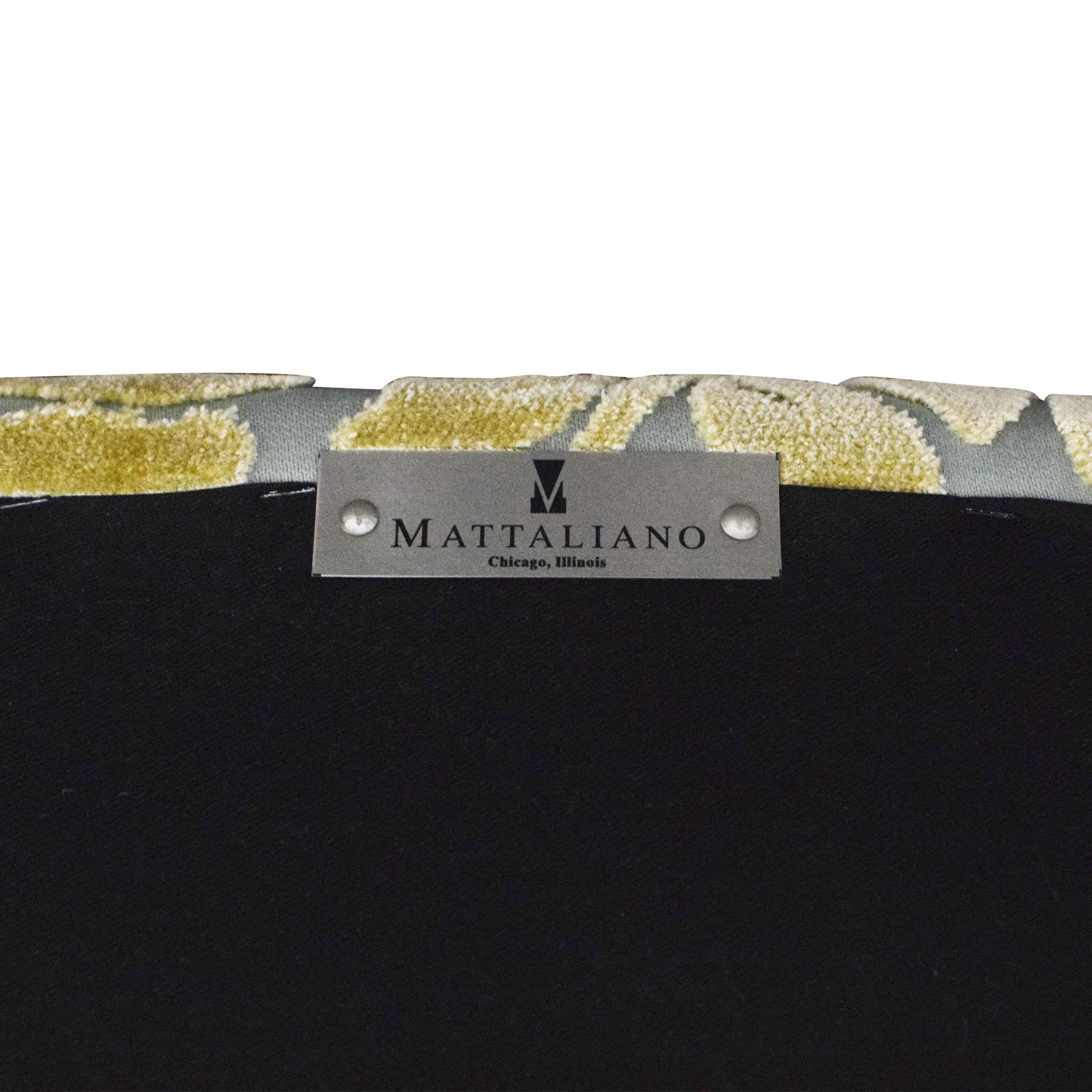 Mattaliano Flea Market #1 Dining Arm Chairs sale
