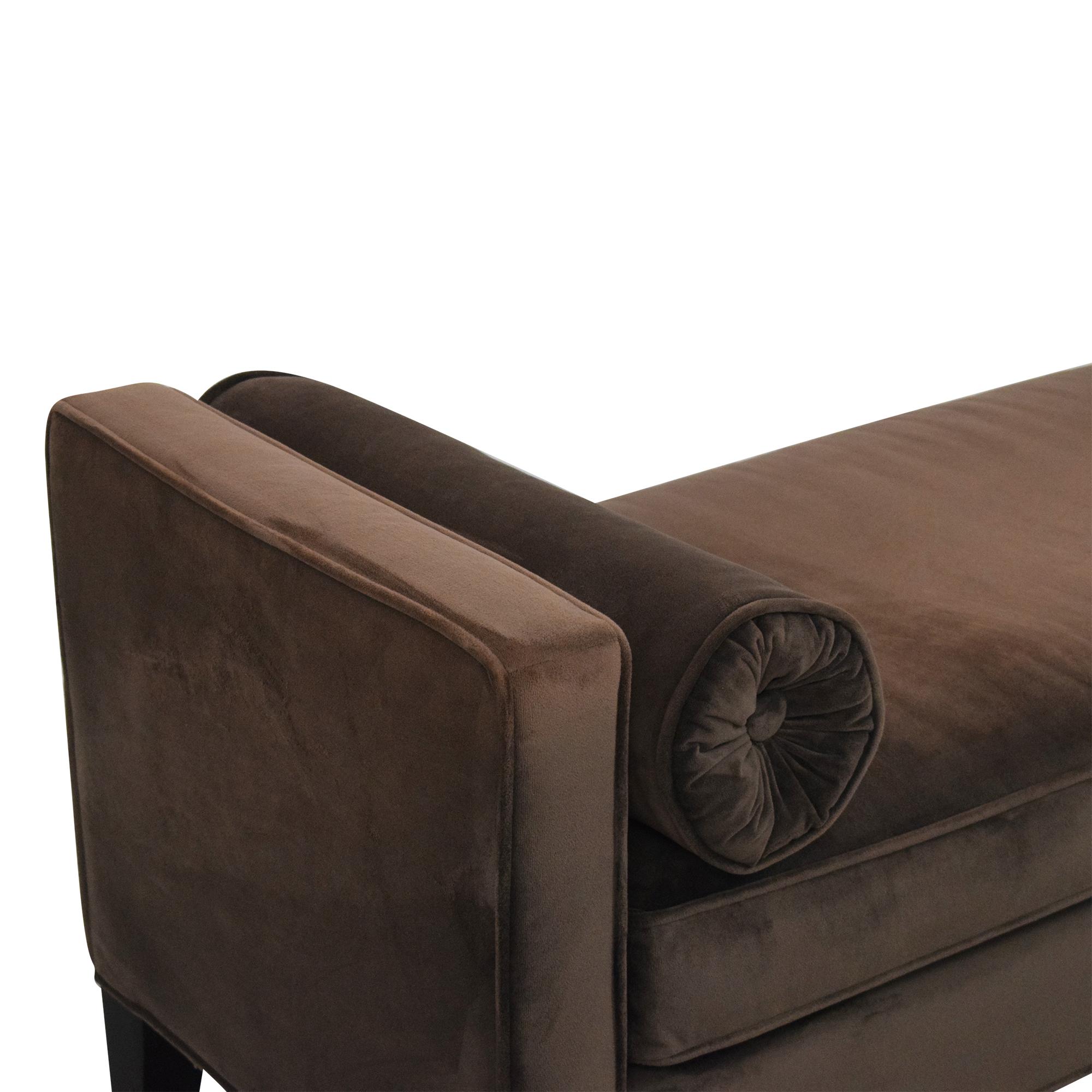 Mitchell Gold + Bob Williams Mitchell Gold + Bob Williams Upholstered Bench nj